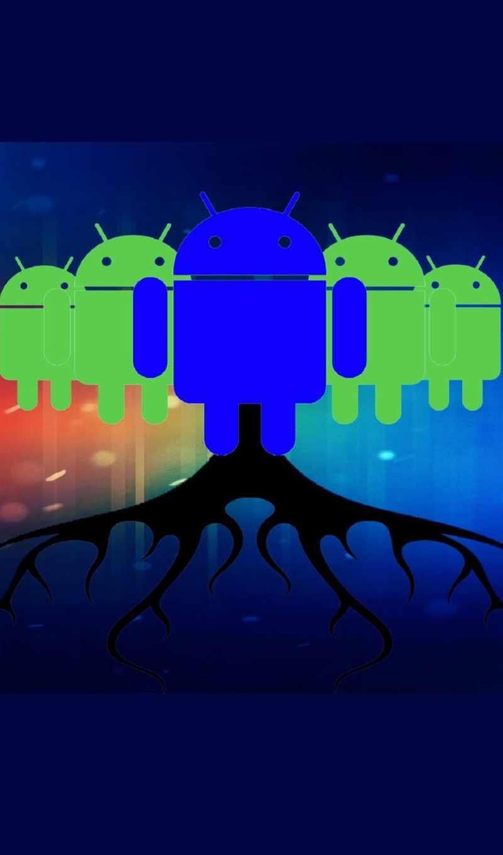 iphone, android, logo, fondo, ск, apple, pantalla, hitam, biru,