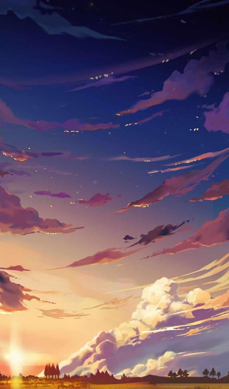 краска, небо