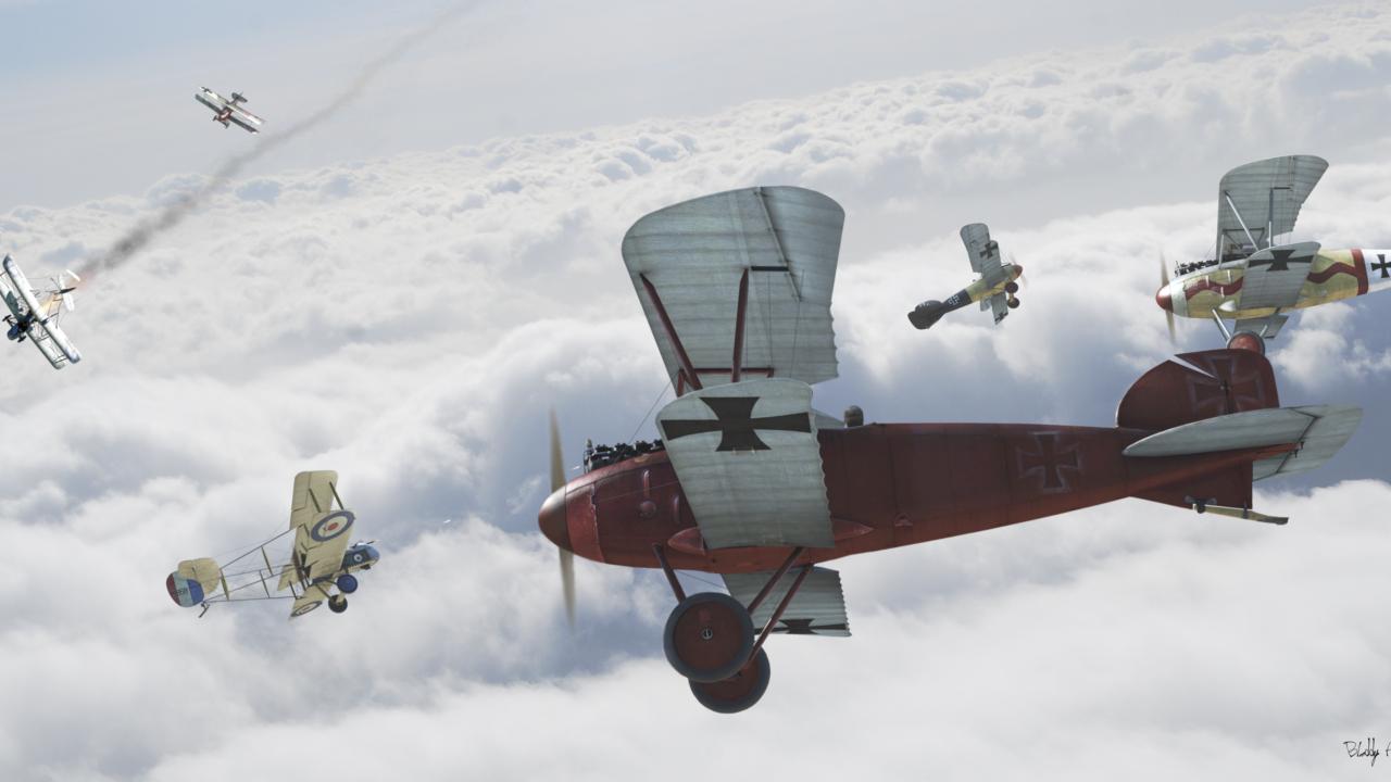Обои Самолёт, Биплан. Авиация foto 19