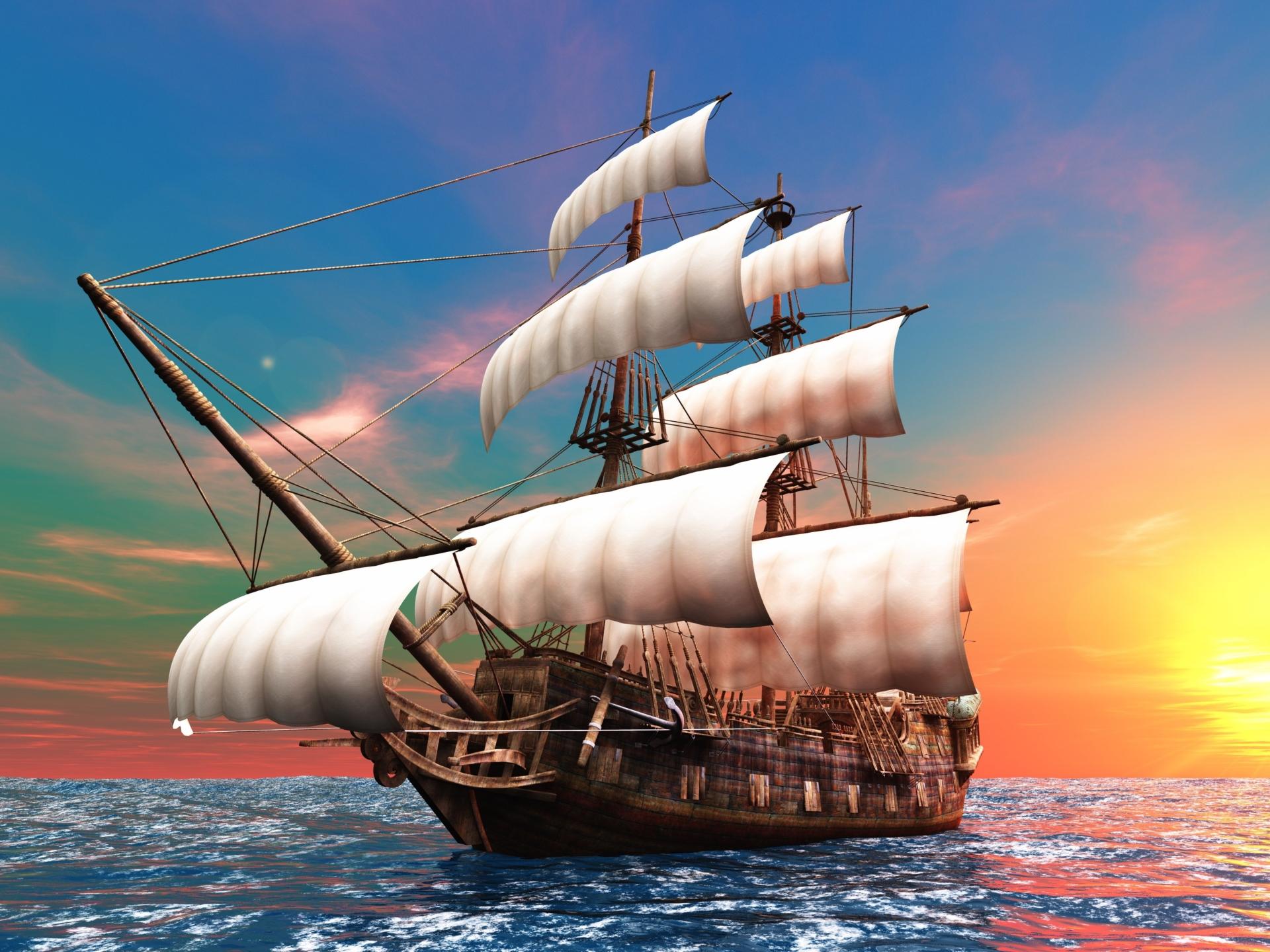 Обои паруса, корабль. Разное foto 16