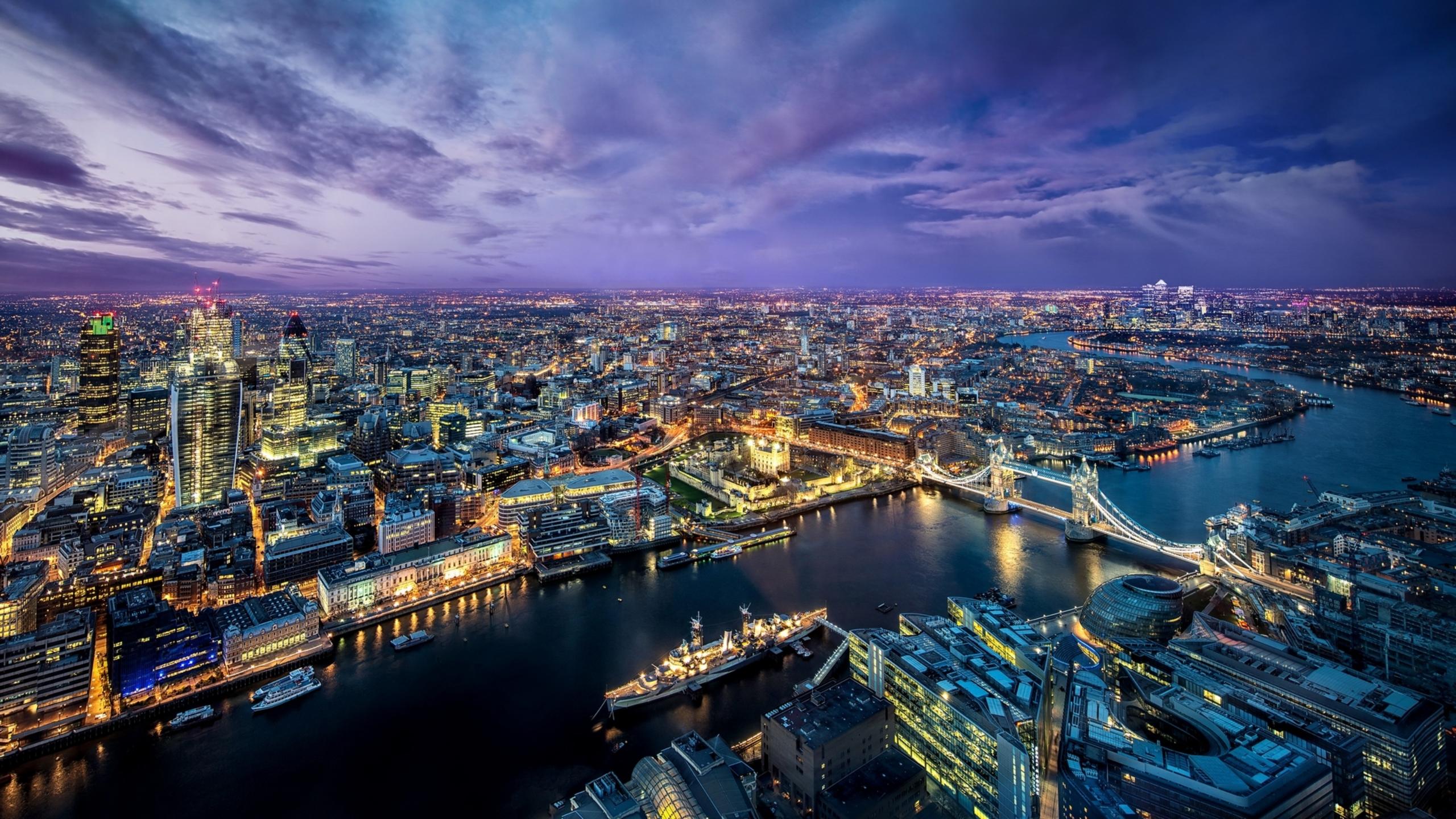 Обои ночь, london. Города foto 13