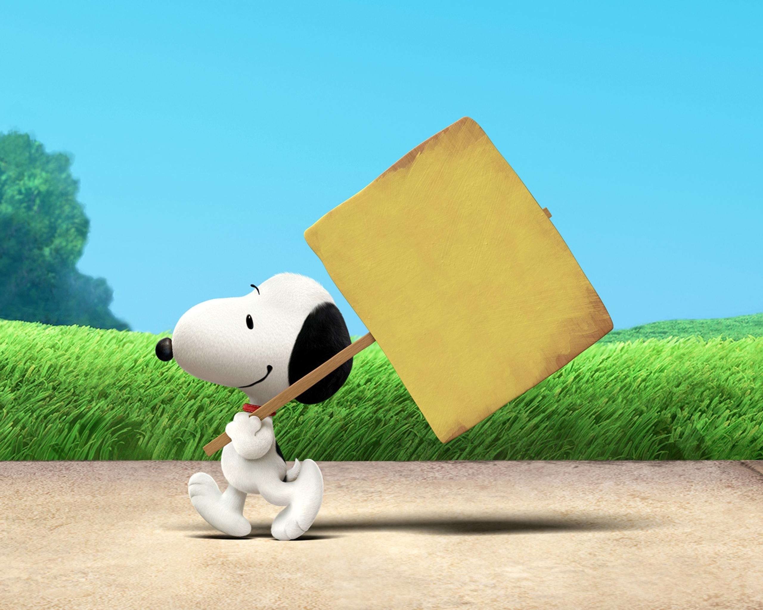 Обои Snoopy. Рендеринг foto 8