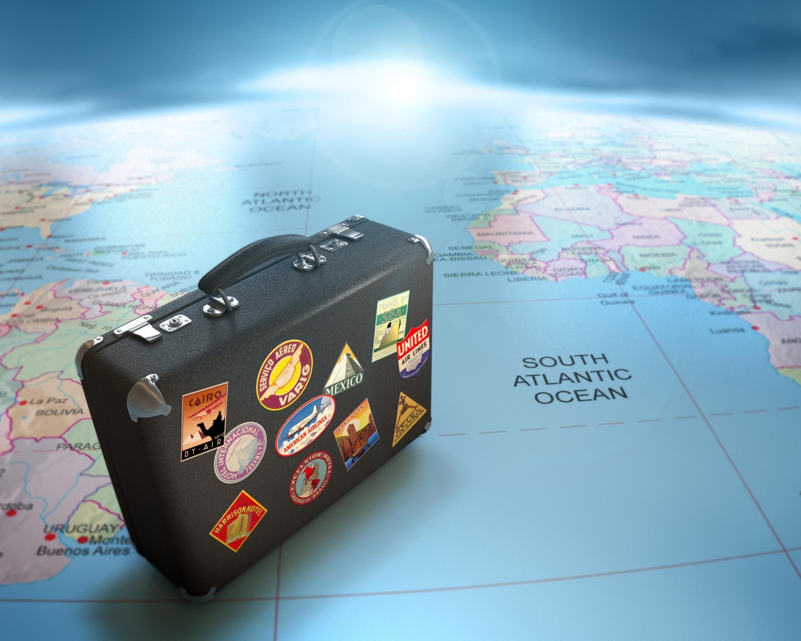 Обои чемодан. Разное foto 13