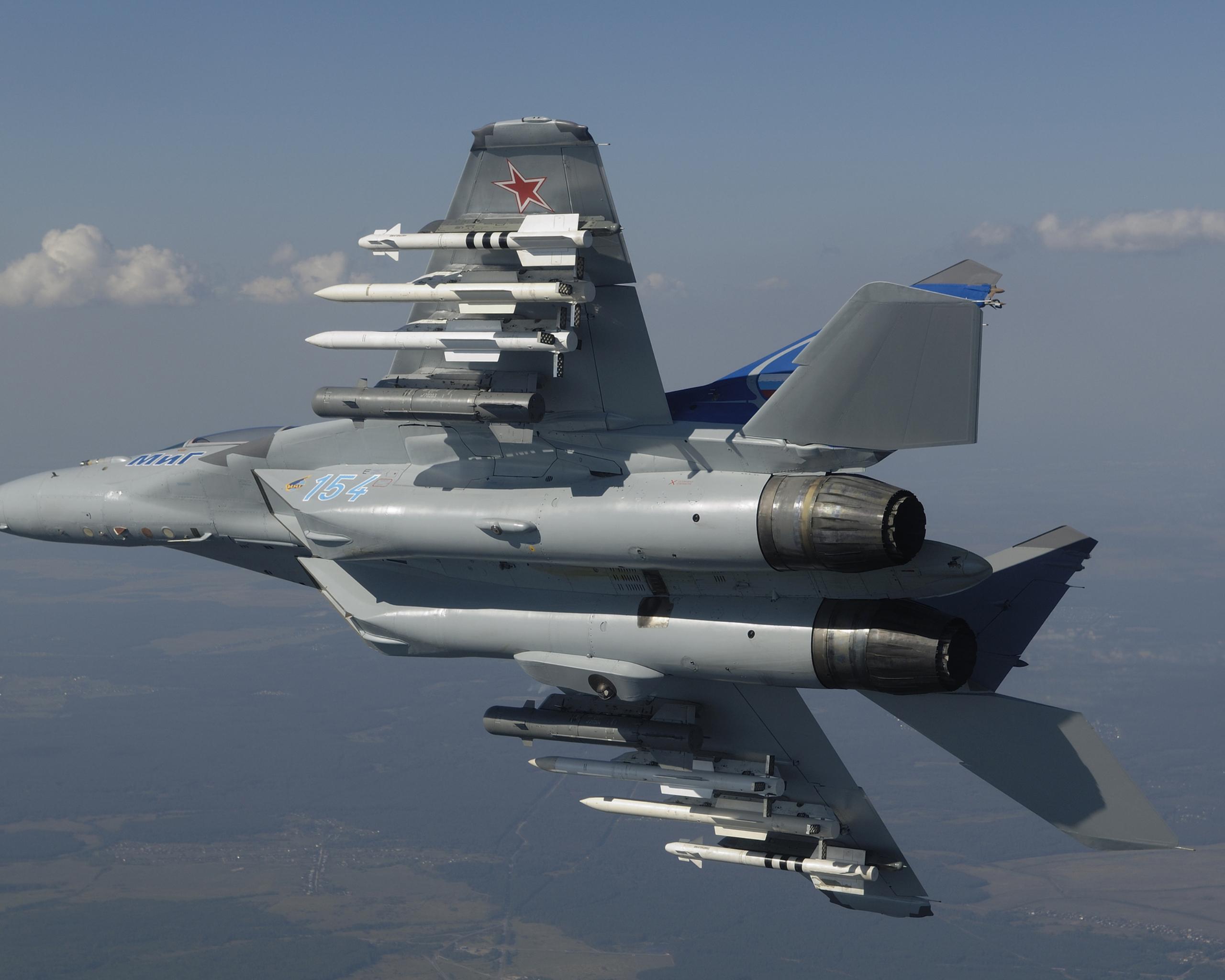 Обои МиГ 35, россия. Авиация foto 17