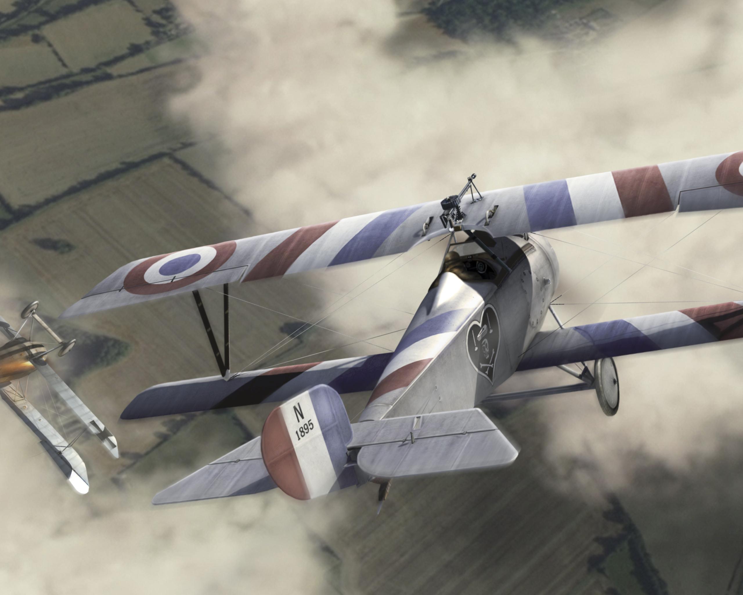 Обои Самолёт, Биплан. Авиация foto 17