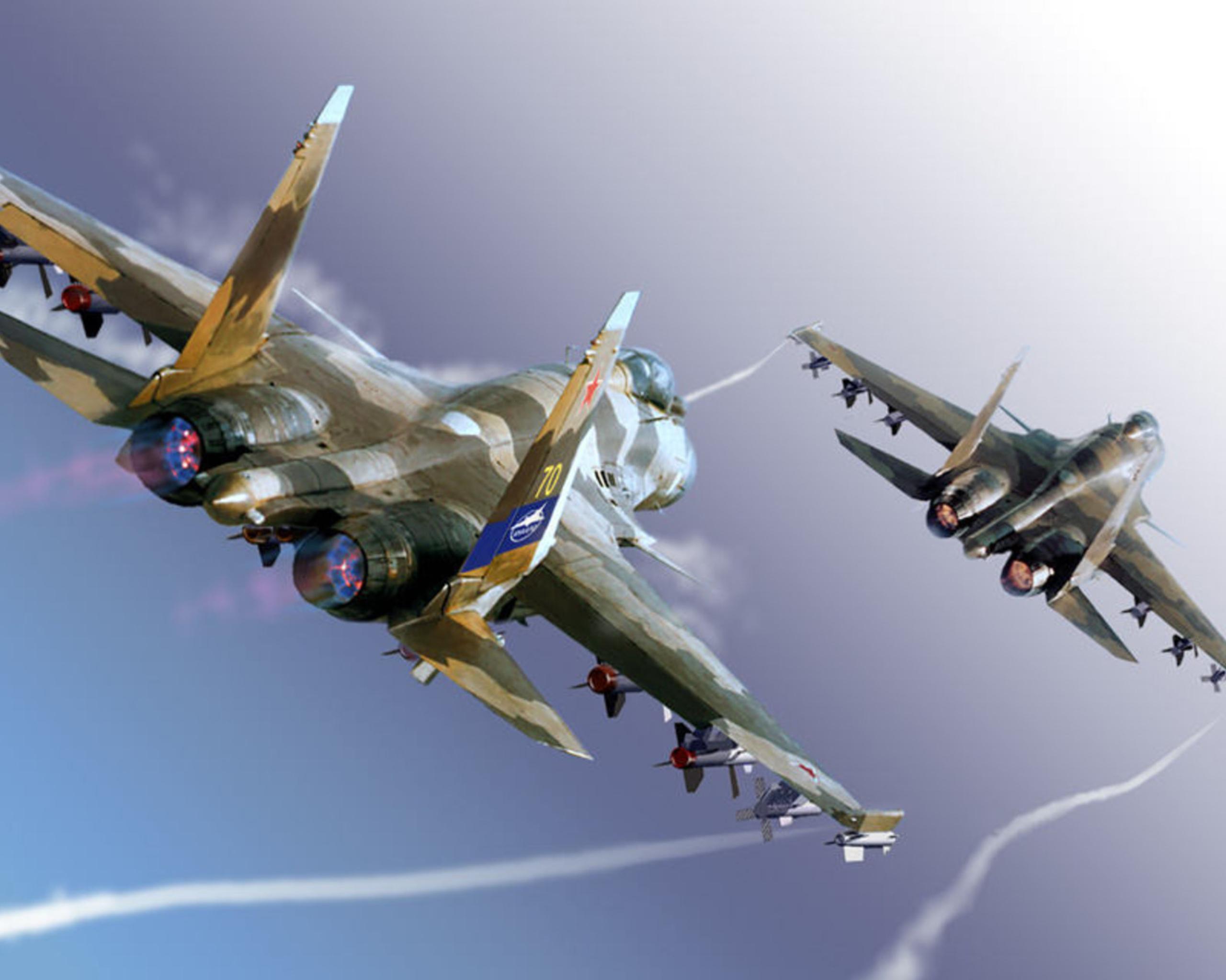 Обои армия, Su-35S. Авиация foto 17