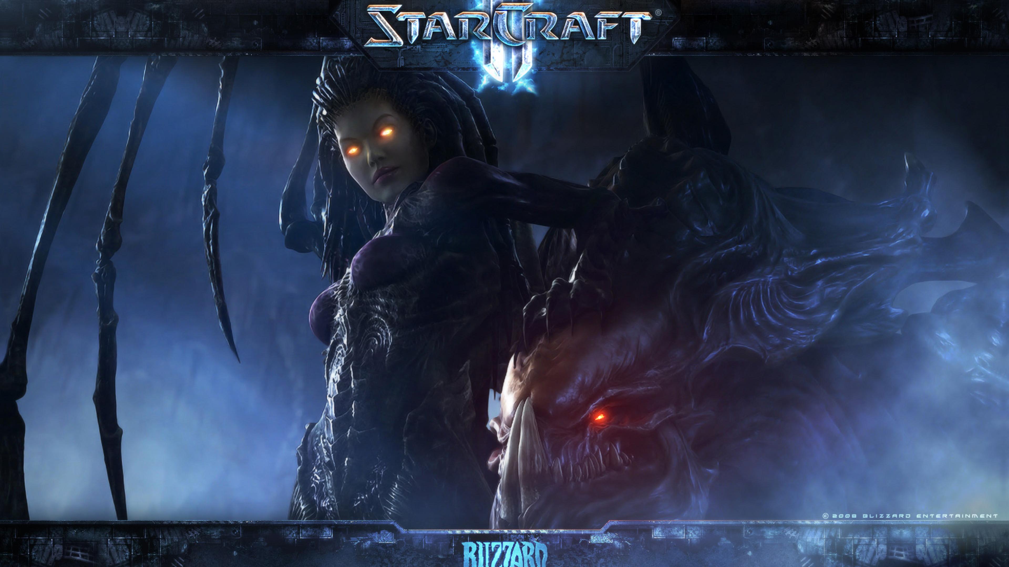 Обои starcraft, queen of blades, Королева Клинков, сара керриган. Игры foto 16