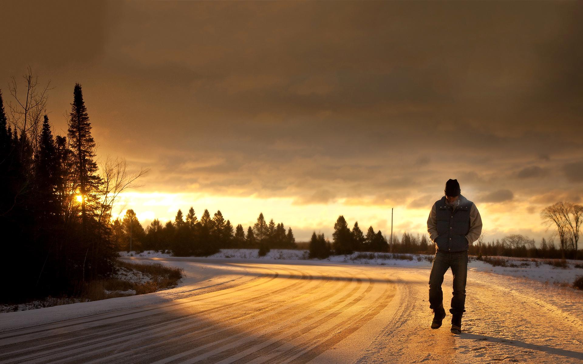 картинки человек в далеке зимой быть