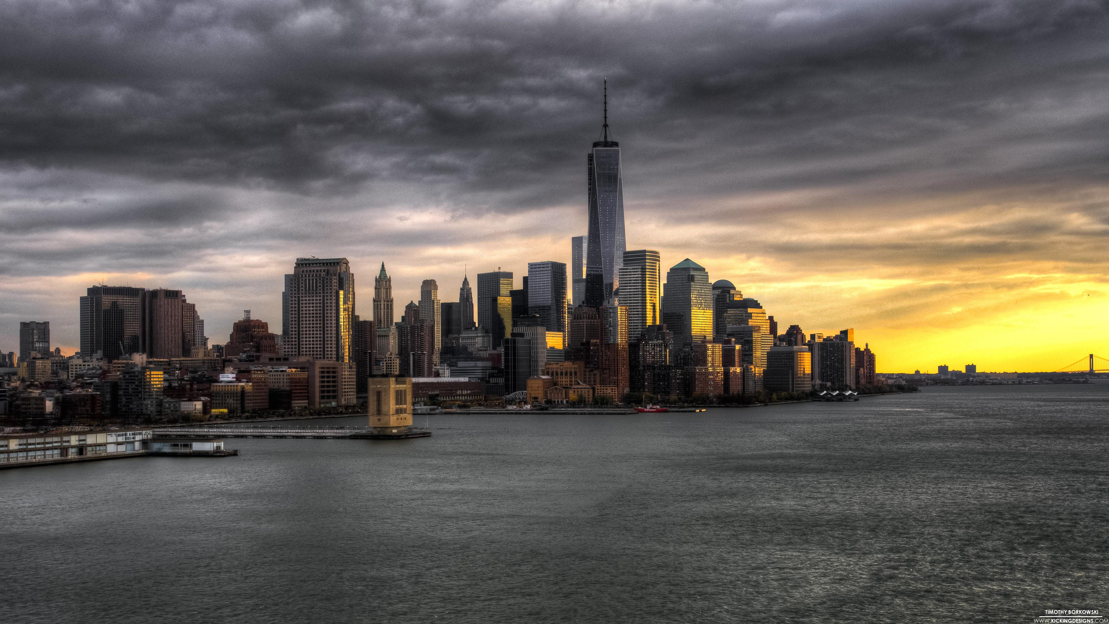 страны город архитектура Манхеттен США на телефон