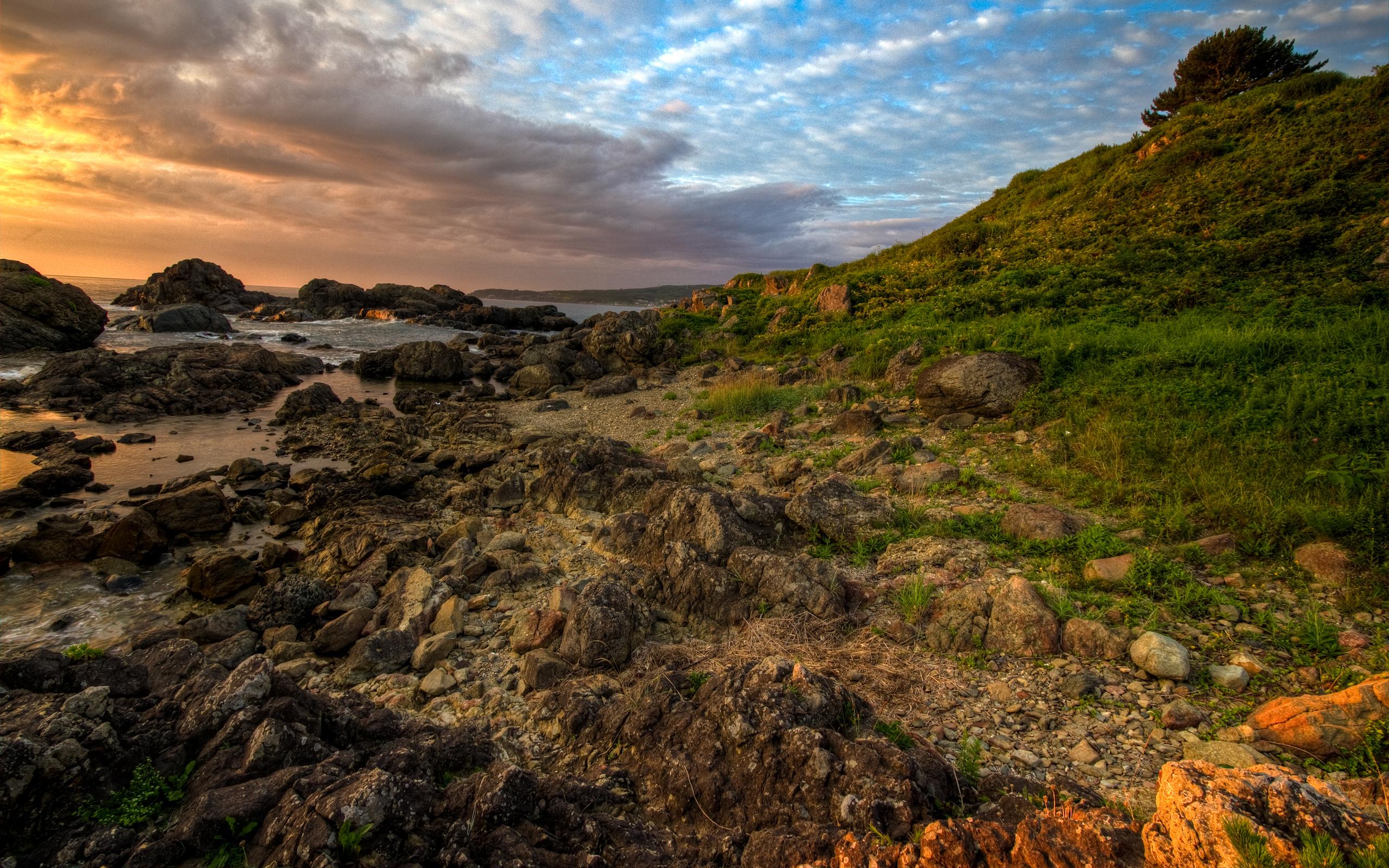 море склон камни  № 1569231  скачать