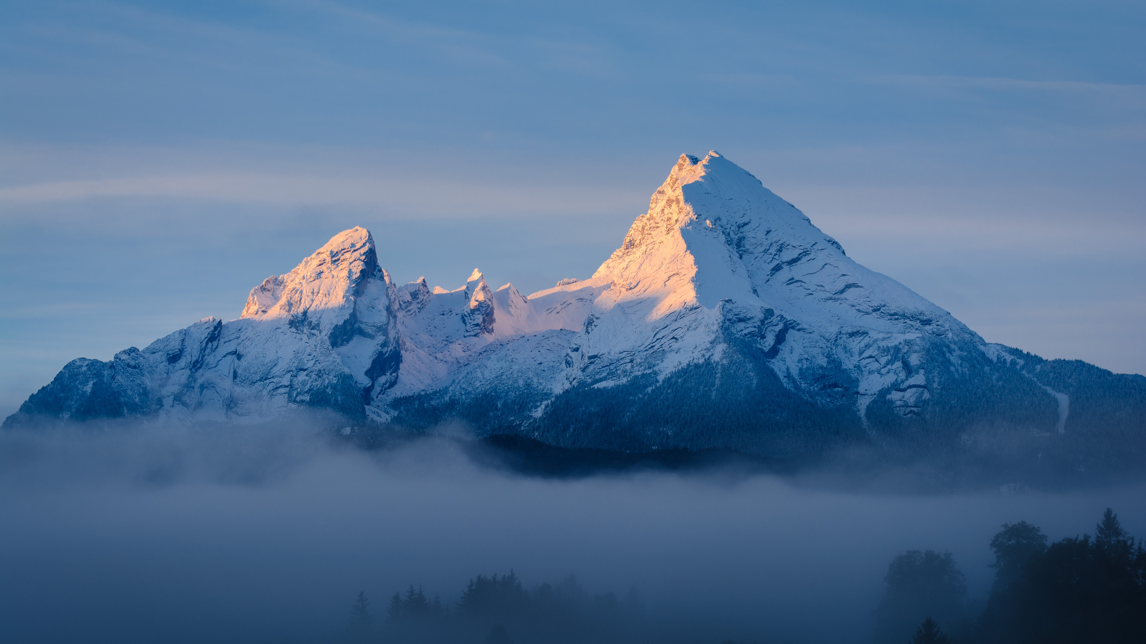 горы облака вершина в хорошем качестве