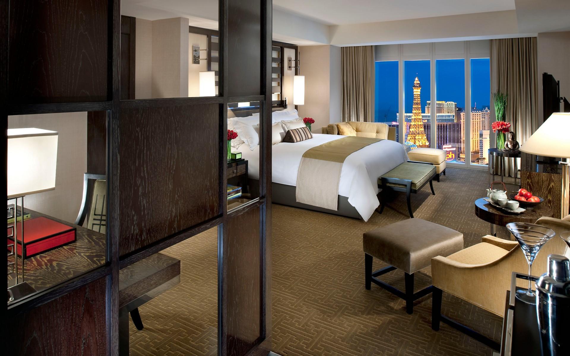 Гостиная с видом на Las-Vegas загрузить