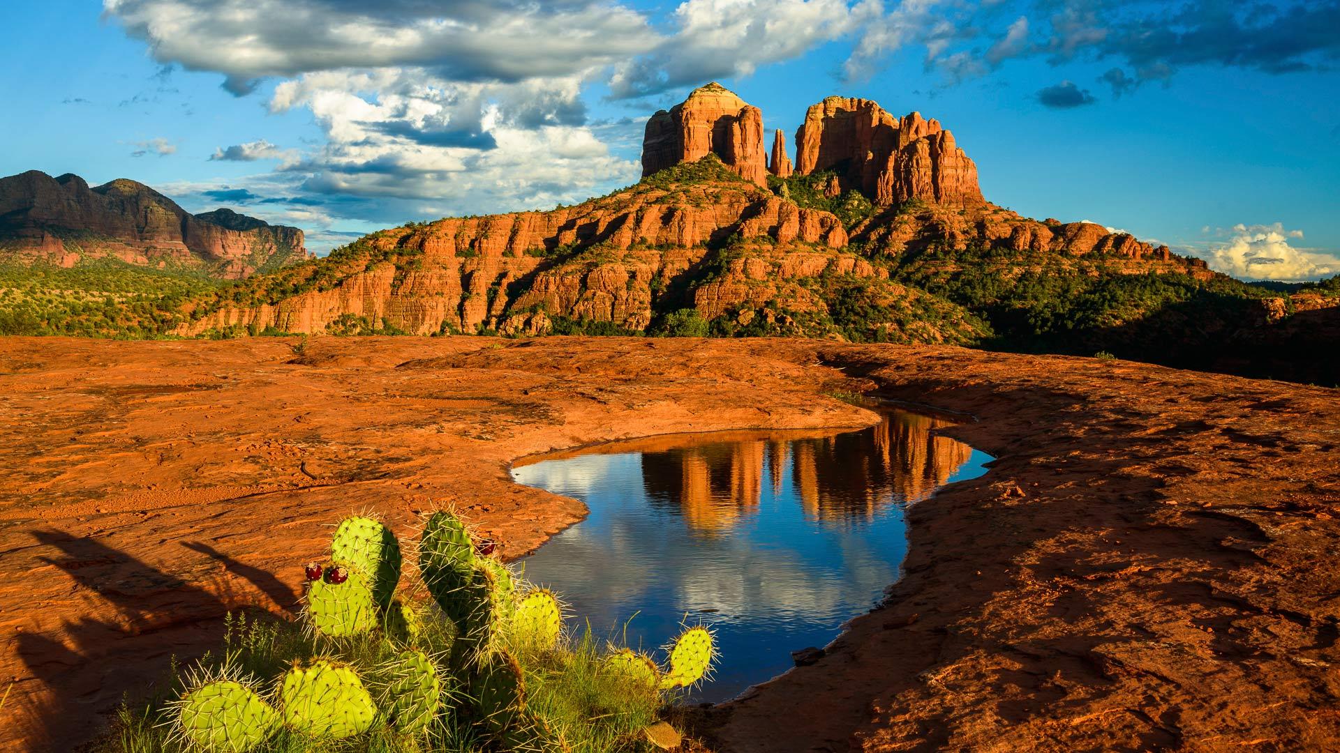 Cathedral Rock, Sedona, Arizona подборки