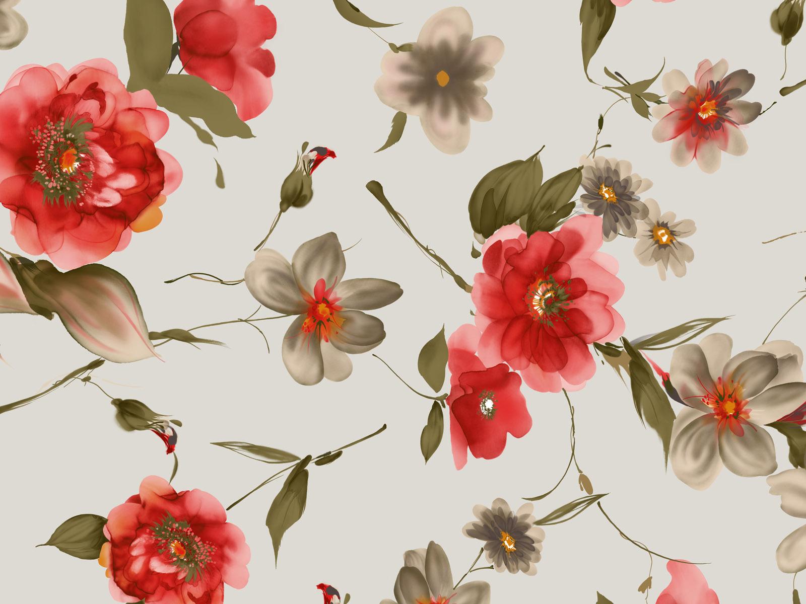 Картинки с цветочным фоном