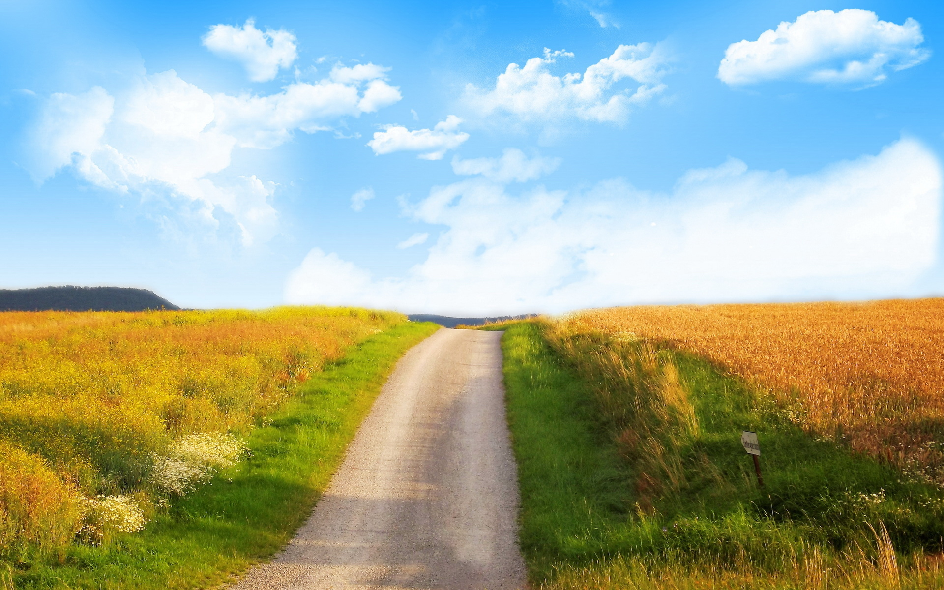 дорога степь небо бесплатно