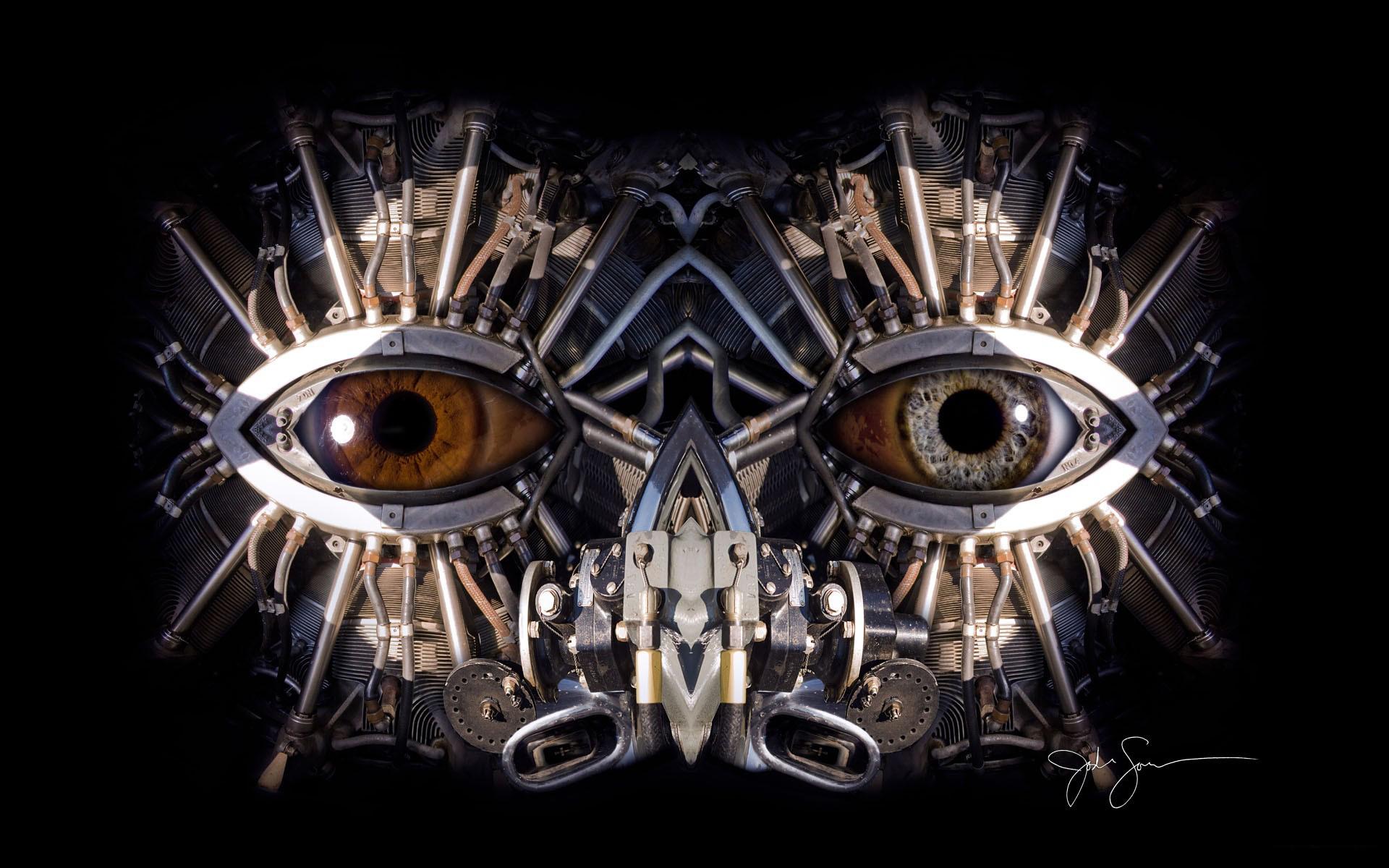 Механический глаз скачать