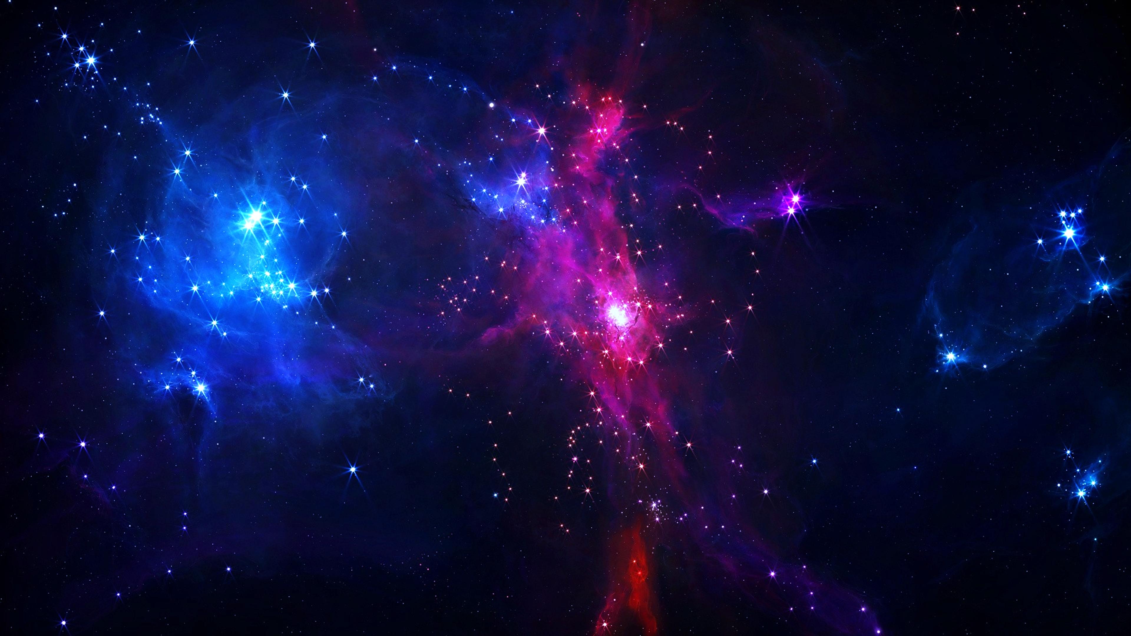 Обои Свет от туманности картинки на рабочий стол на тему Космос — скачать без регистрации