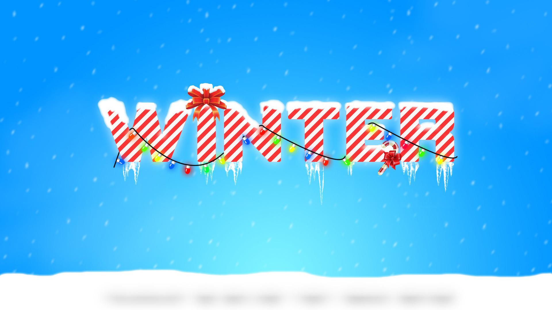 Февраля, картинка зима с надписями