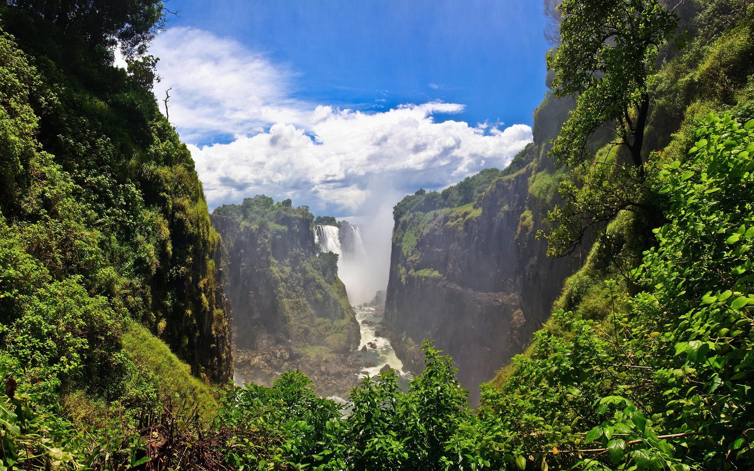 водопад горы  № 2560942 бесплатно