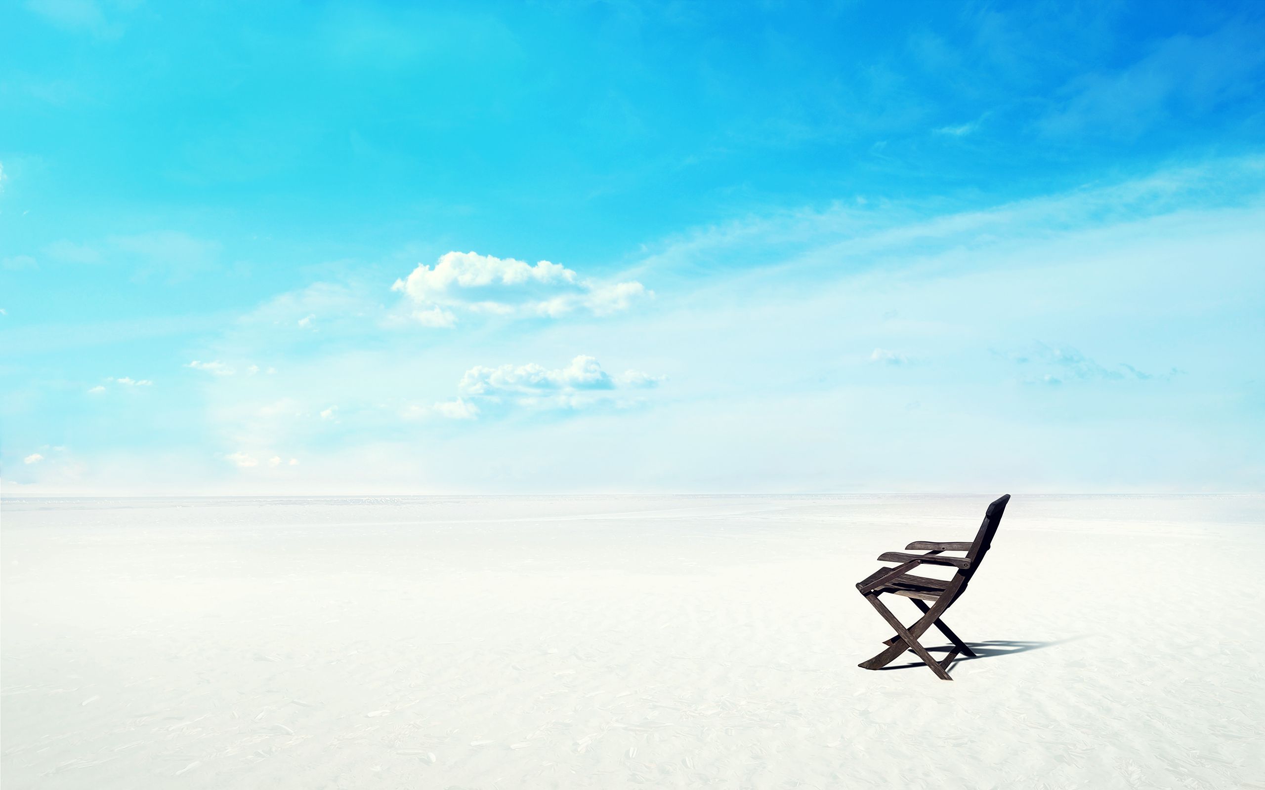 природа песок море горизонт небо облака  № 2577472 без смс