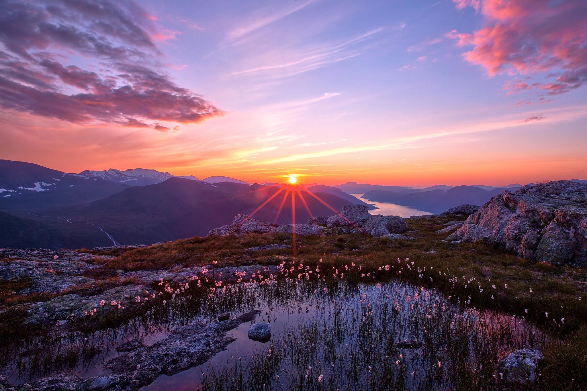 закат природа небо бесплатно