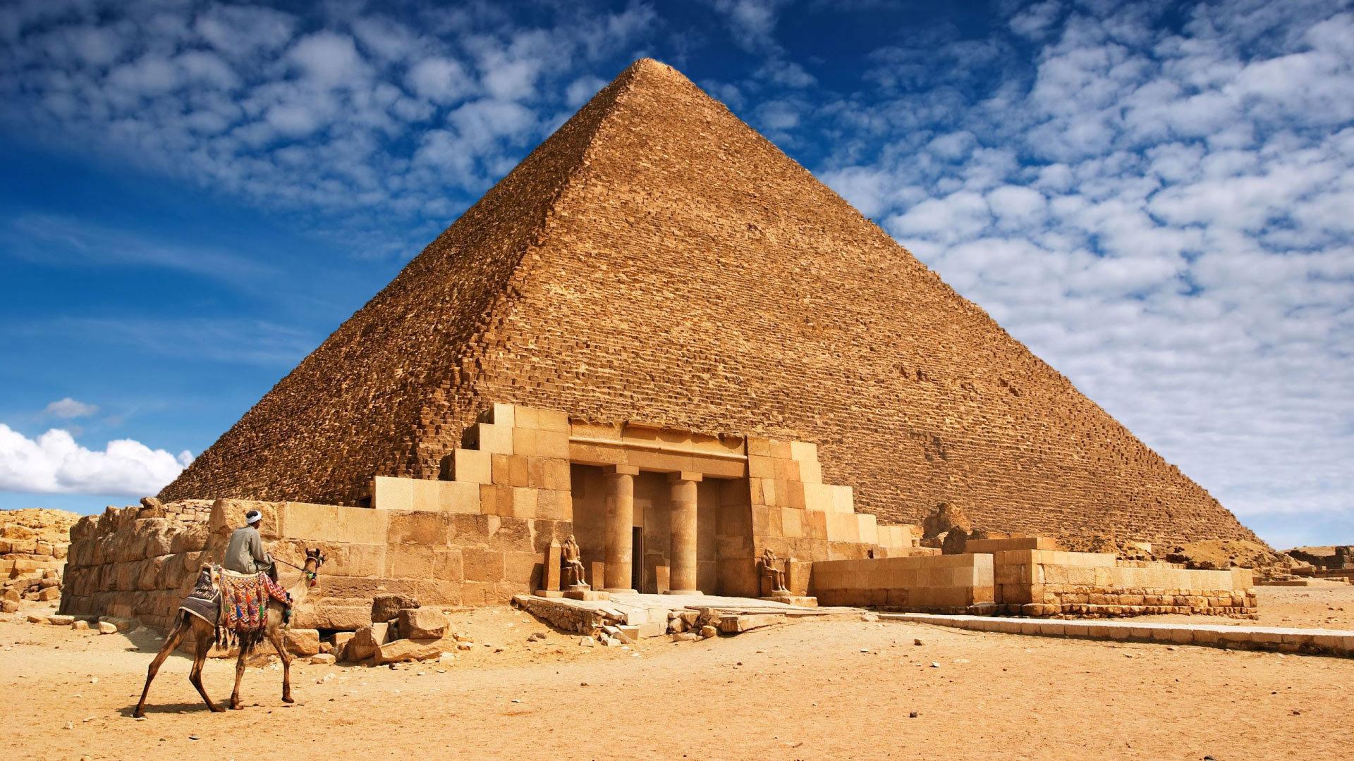parthenon and pyramids