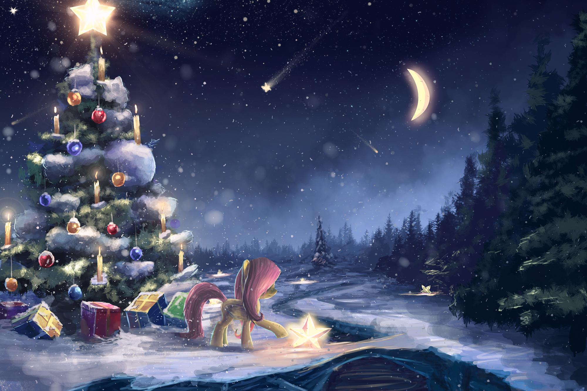 Фэнтези открытки с новым годом, пожеланием