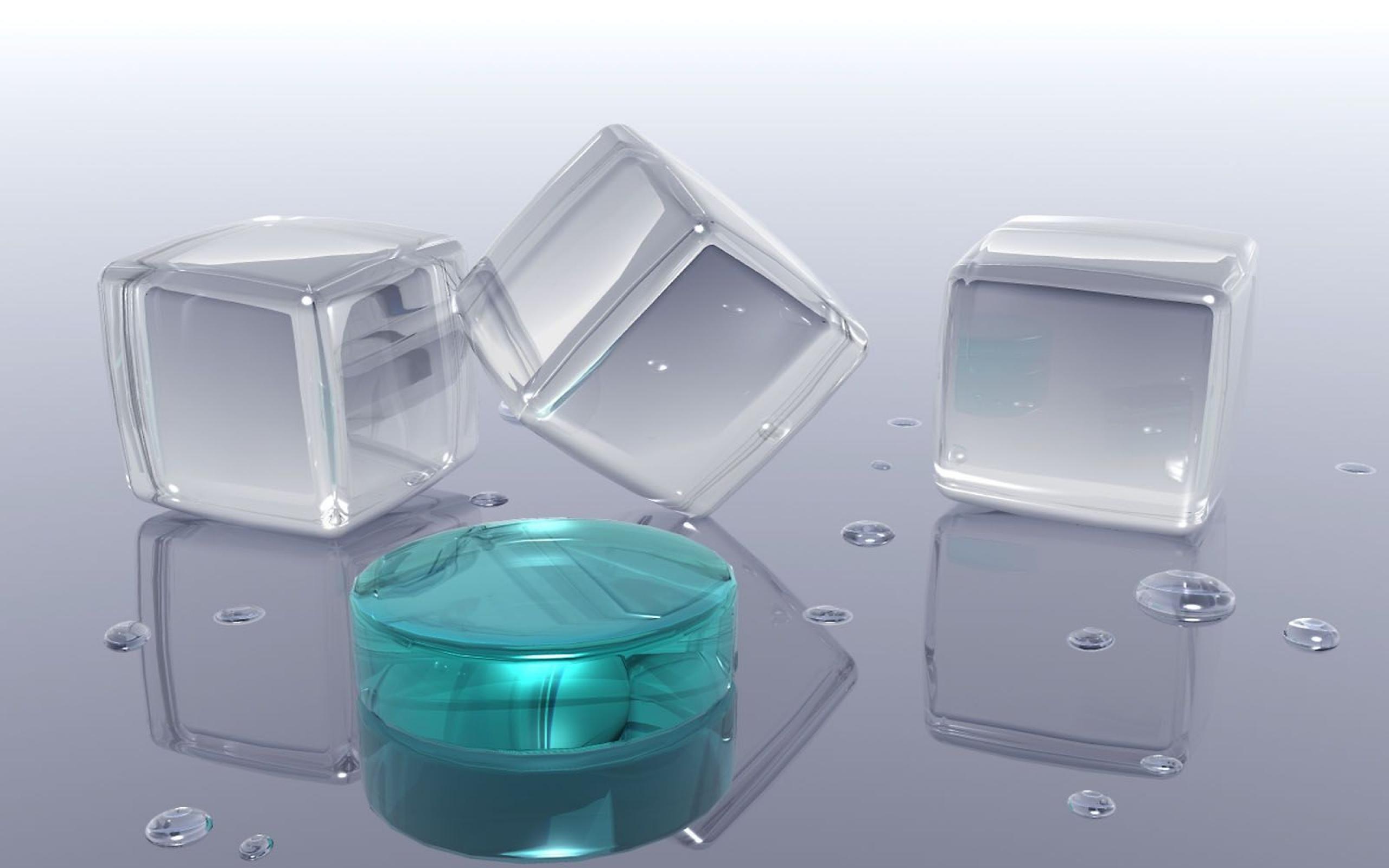 прозрачный кубик  № 2465628  скачать