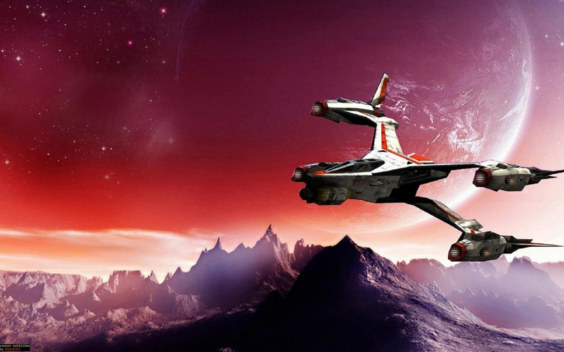 Обои космос корабль Вавилон-5 space ship Babylon 5 картинки на рабочий стол на тему Космос - скачать скачать