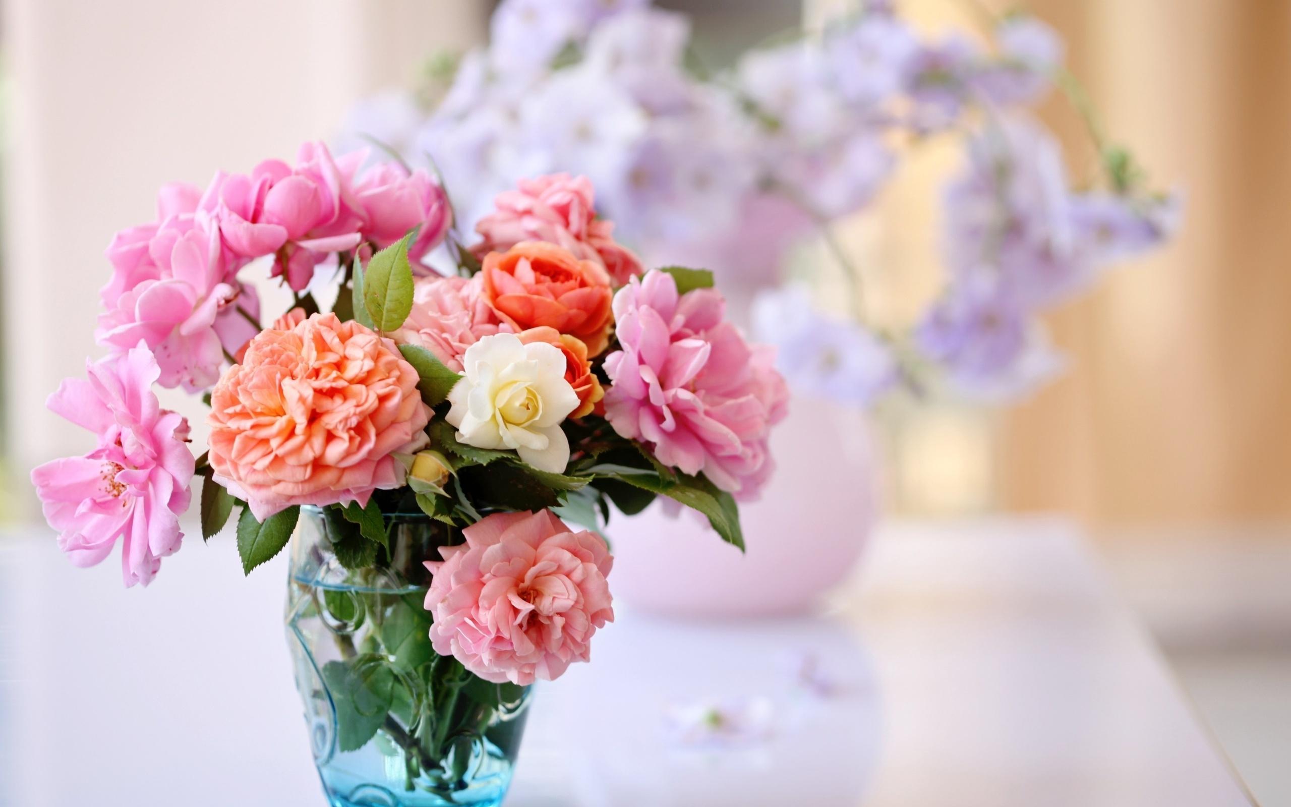 цветочки в вазе скачать