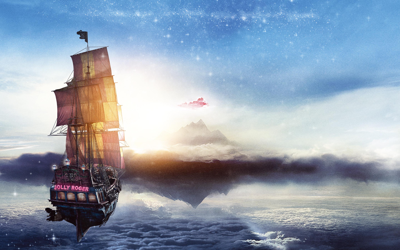 особое картинки фэнтези небо и корабль же, как картофелем