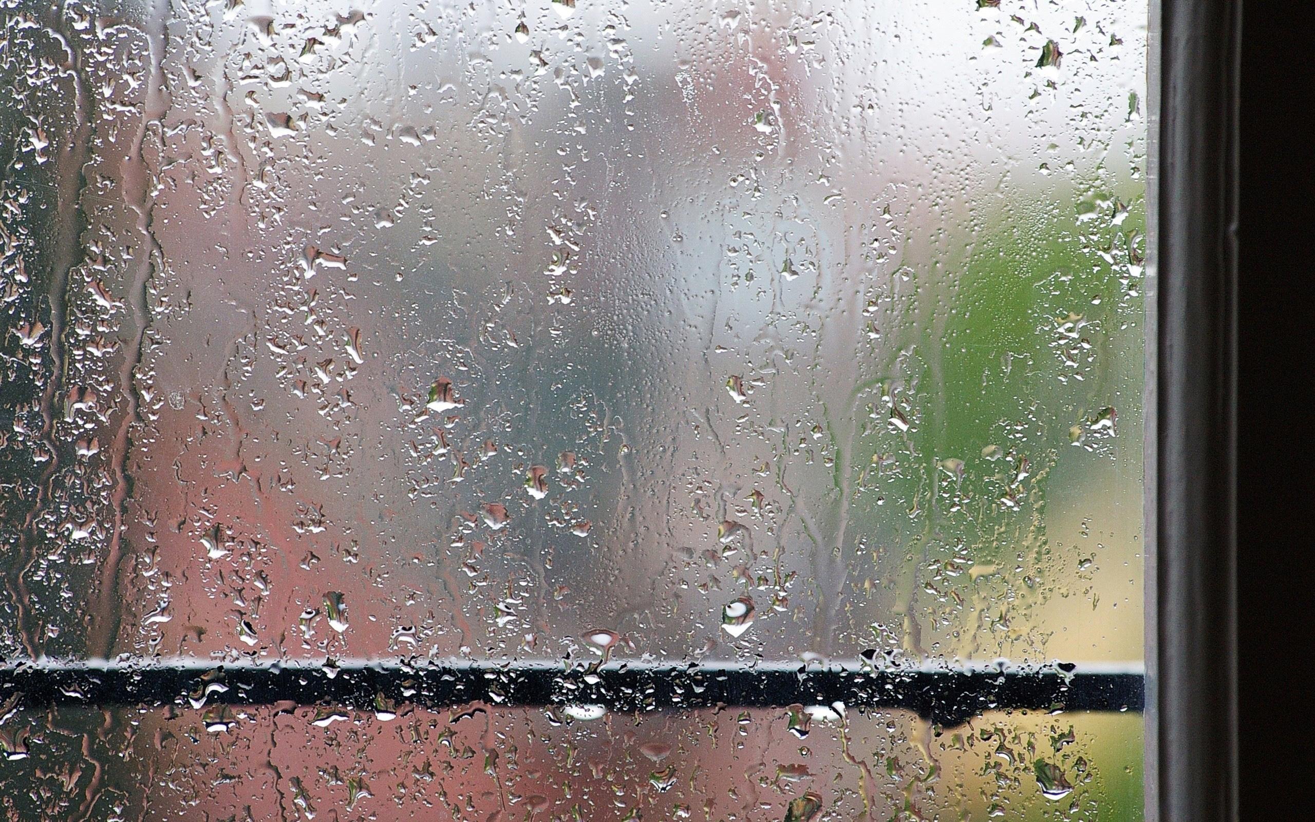 Открытка дождь за окном