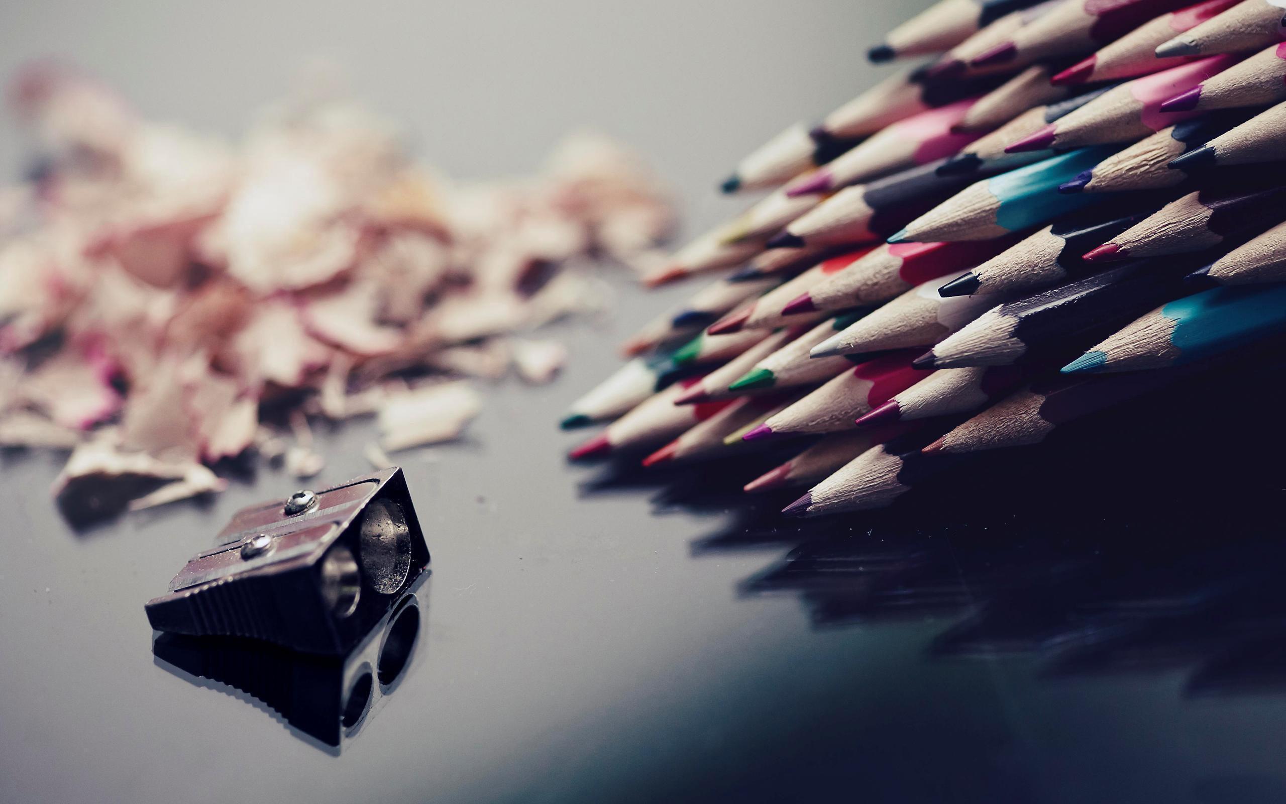Заточенные карандаши без смс