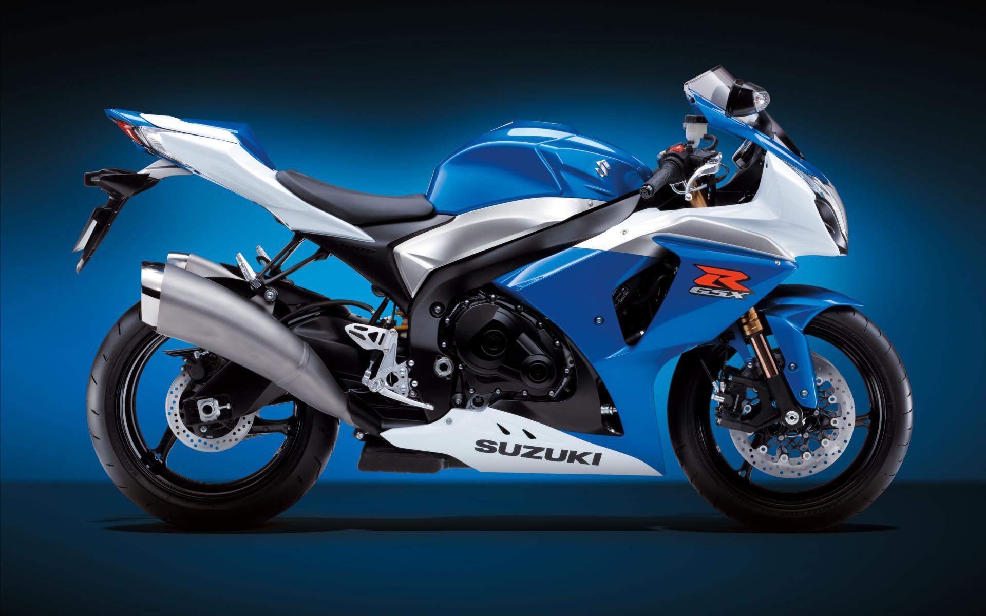 Сине-желтый мотоцикл без смс