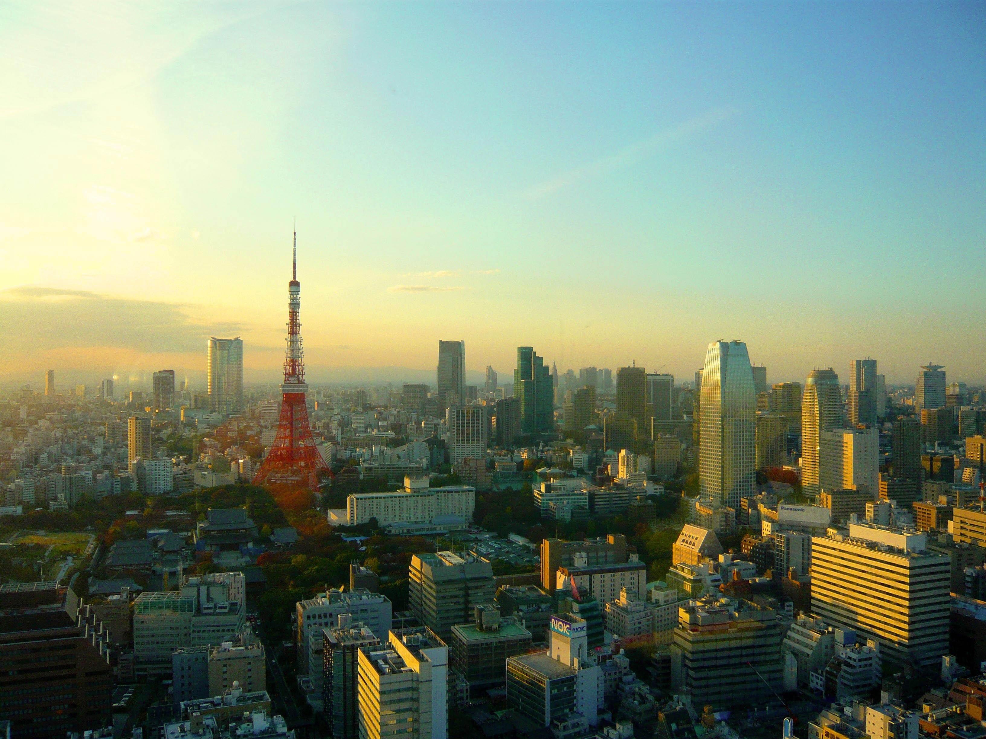 для фото японский город утро девичья гордость