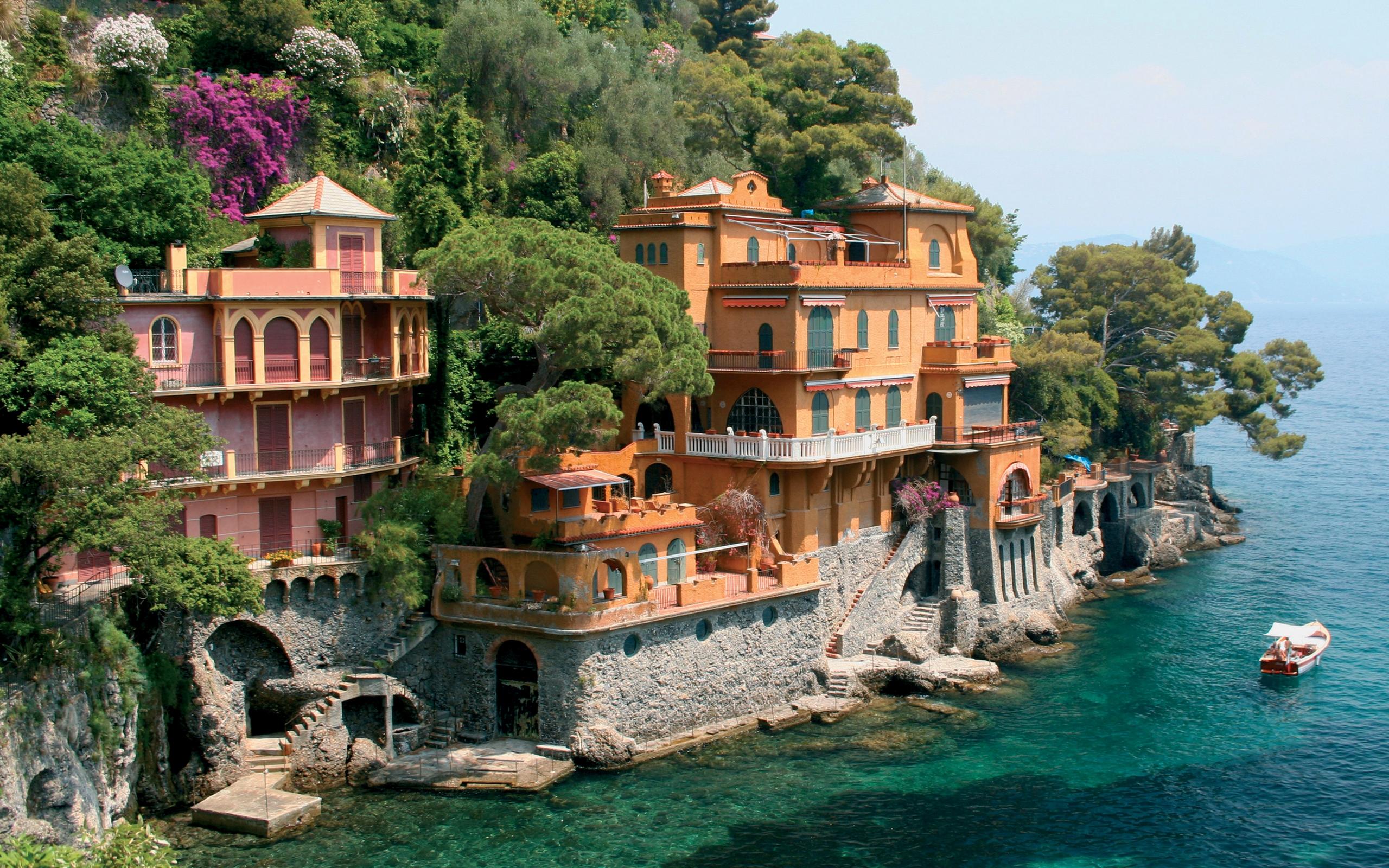 страны архитектура природа море Италия бесплатно