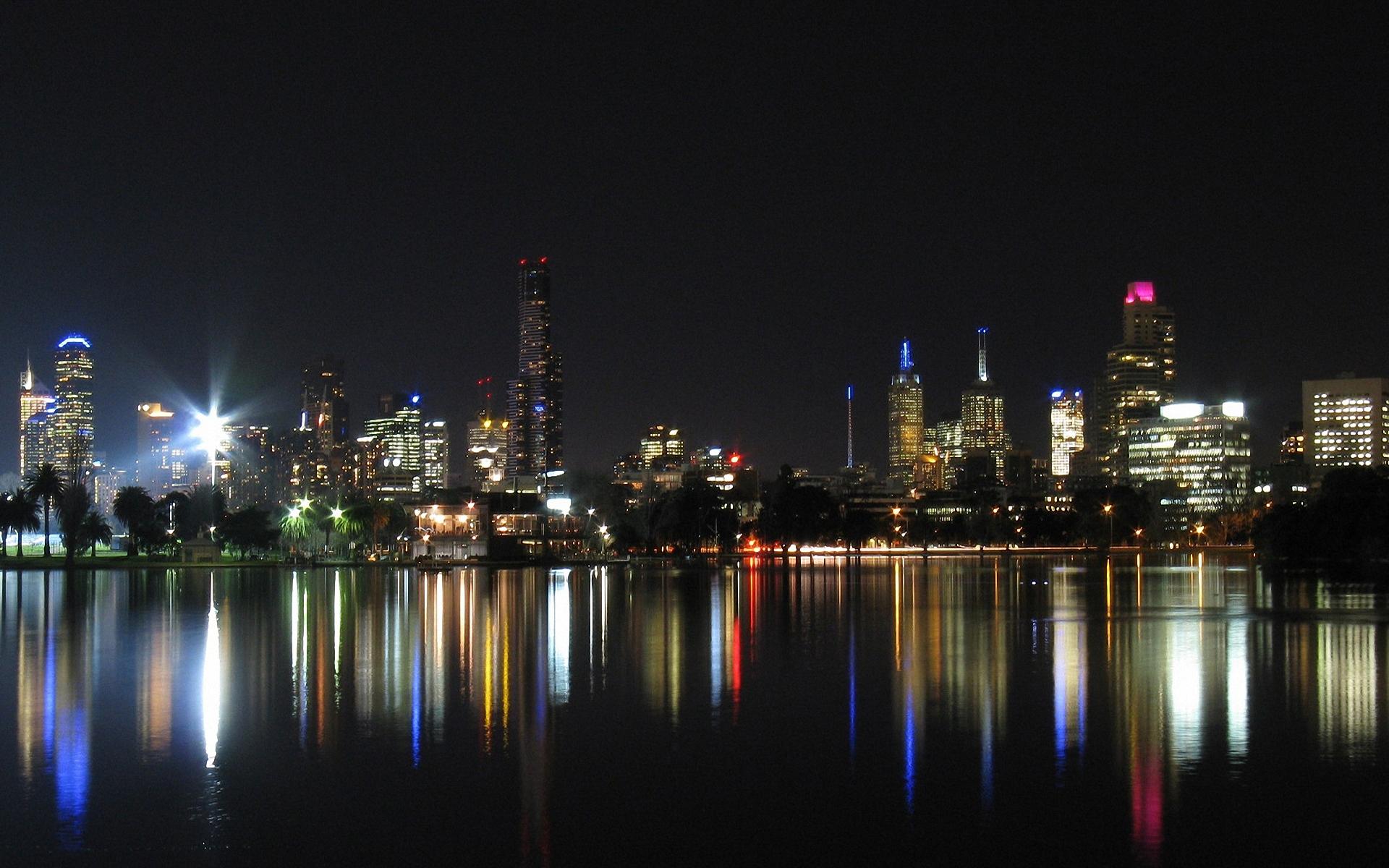 Ночные огни города загрузить
