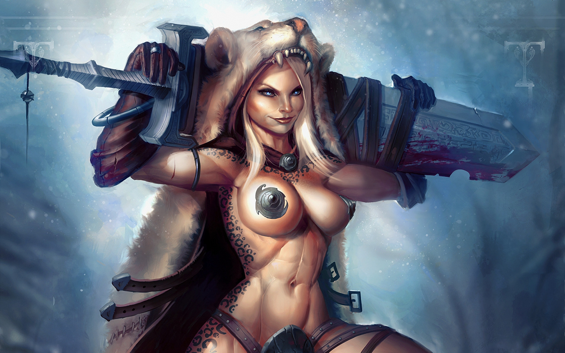 Fantasy sexy tits