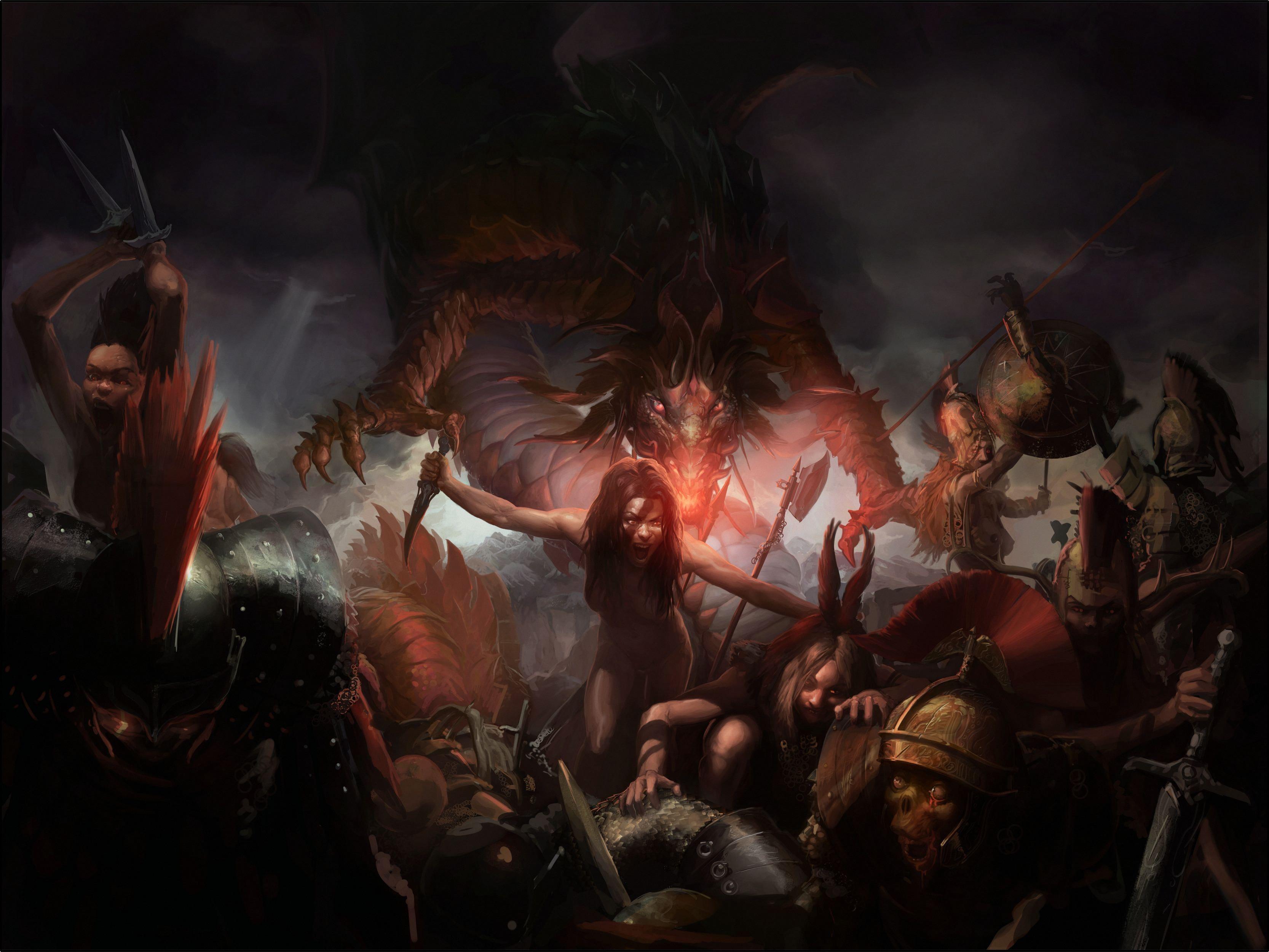 Битва Демонов  № 3608309 бесплатно