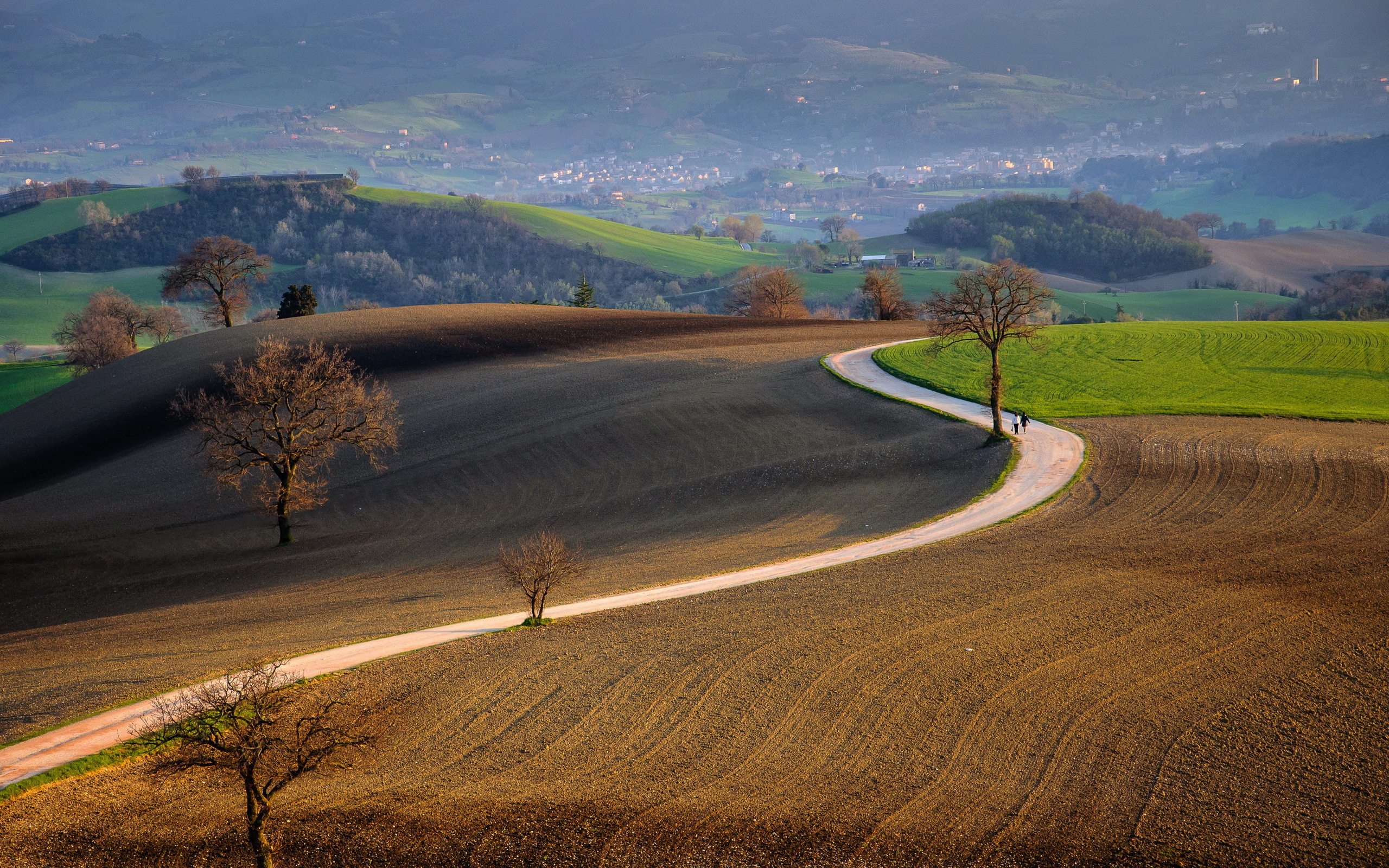 дорога в Италии  № 2221834 бесплатно