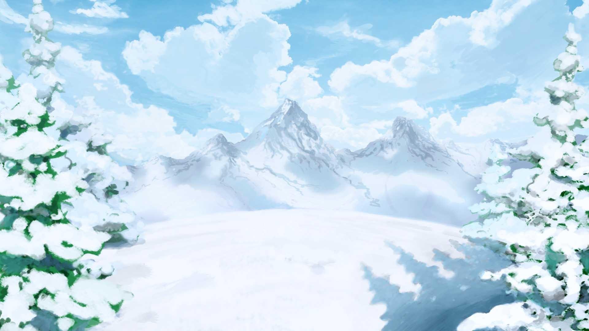 снег ели гора snow ate mountain  № 2479284 бесплатно