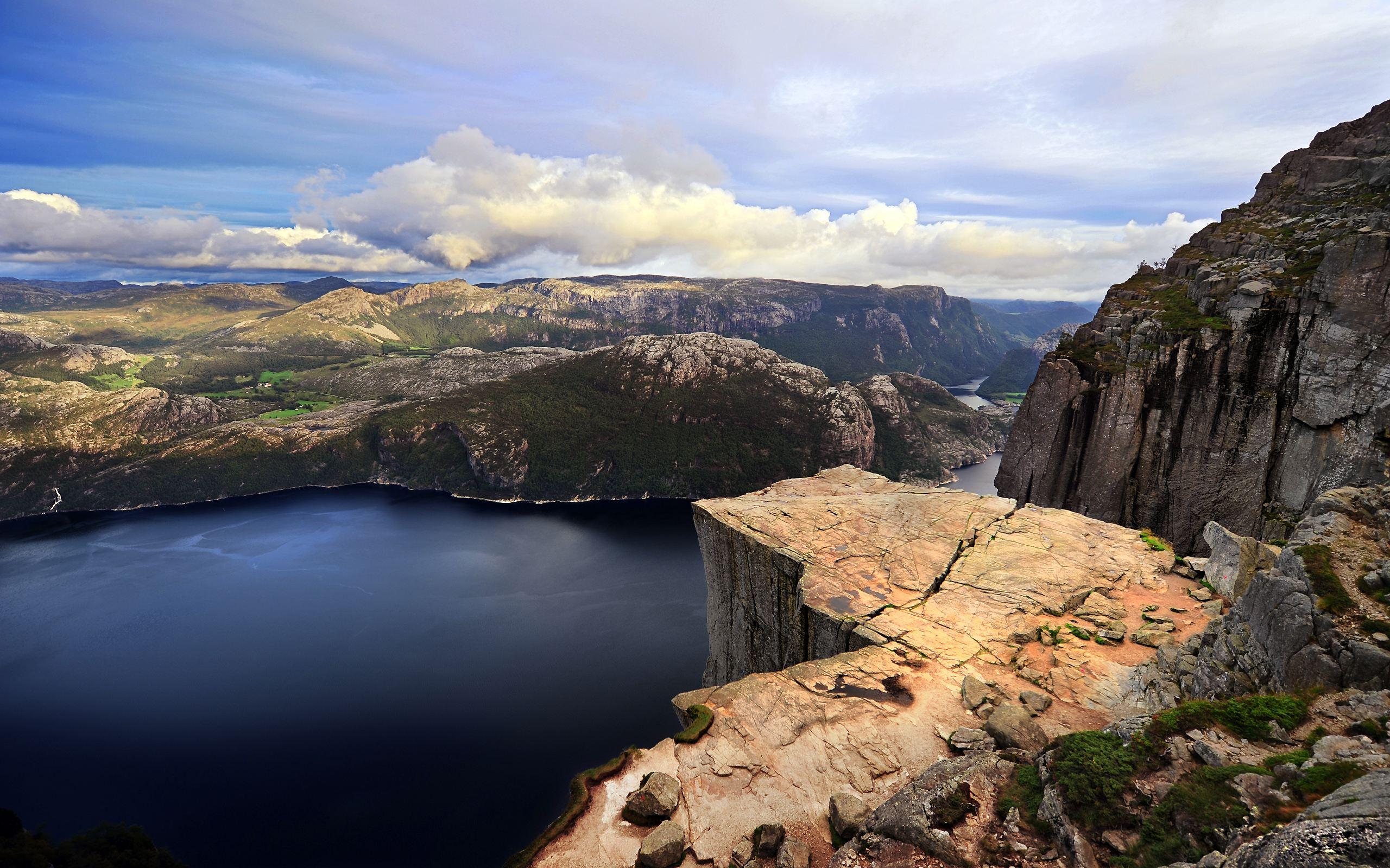 природа река горы скалы  № 885495  скачать