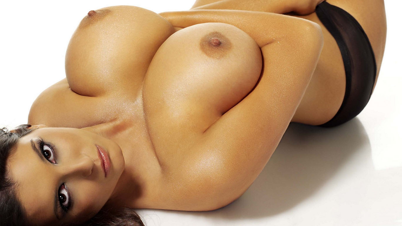 Beautiful naked girls breasts