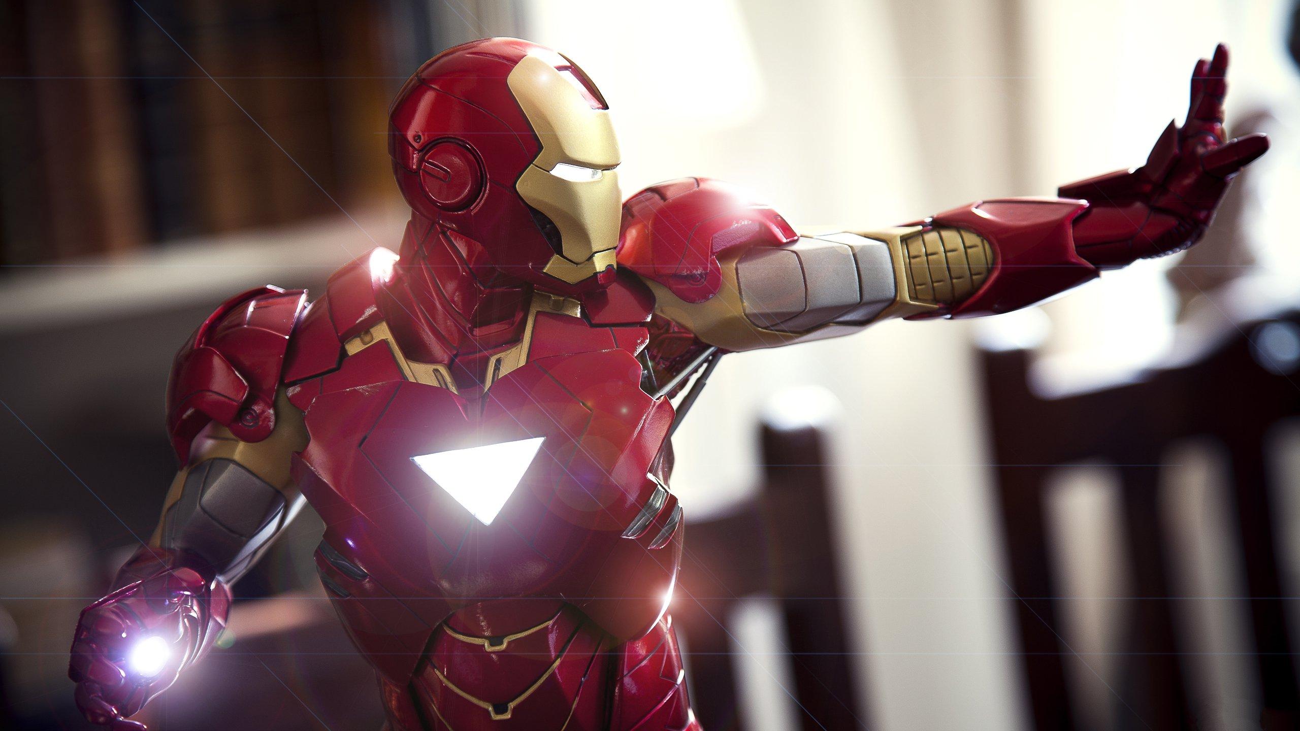 profile paper on iron man
