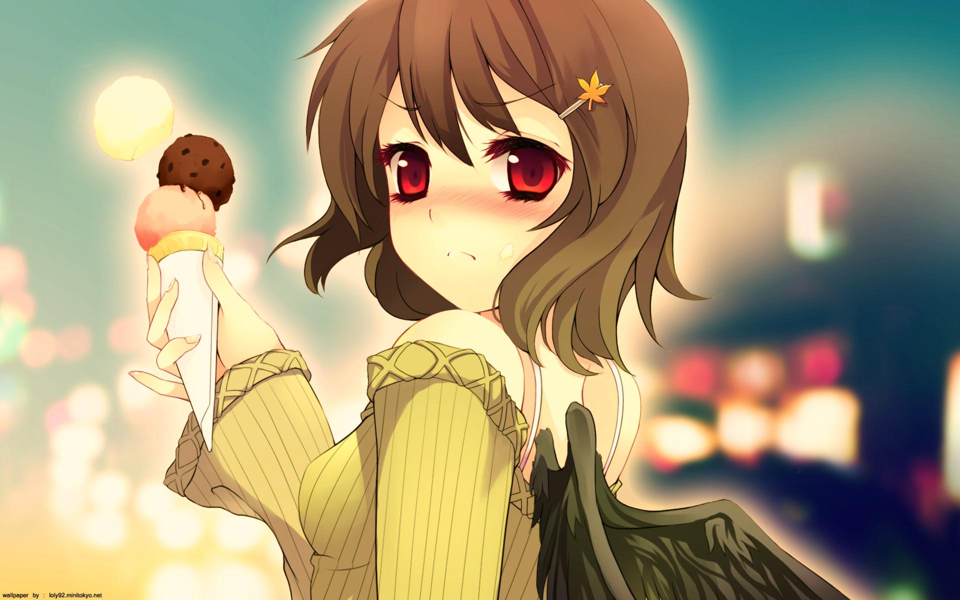 Прикольные картинки с девчонками аниме