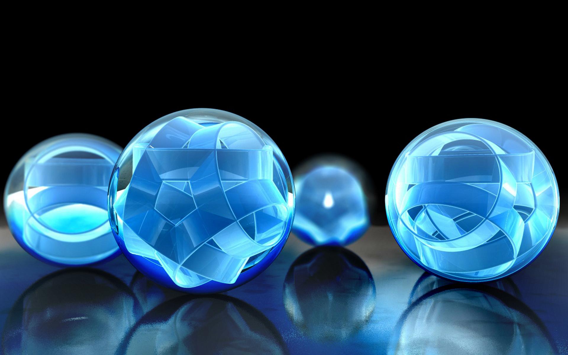 Голубые шары без смс