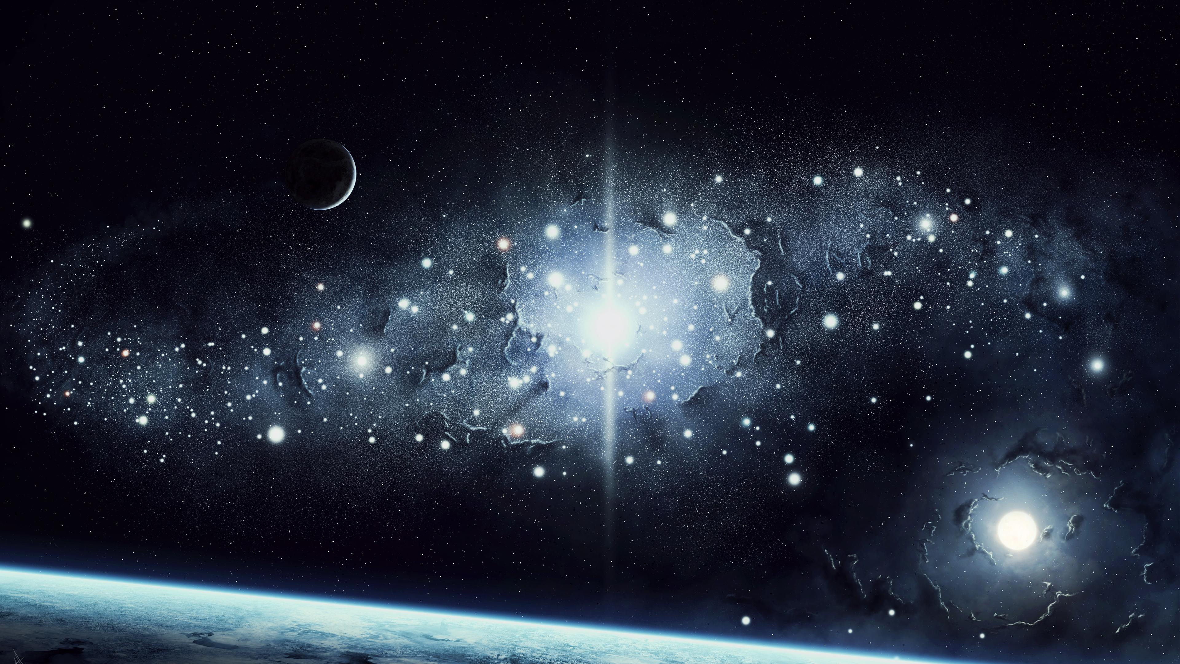 Картинки небо звезды планеты, открытки днем