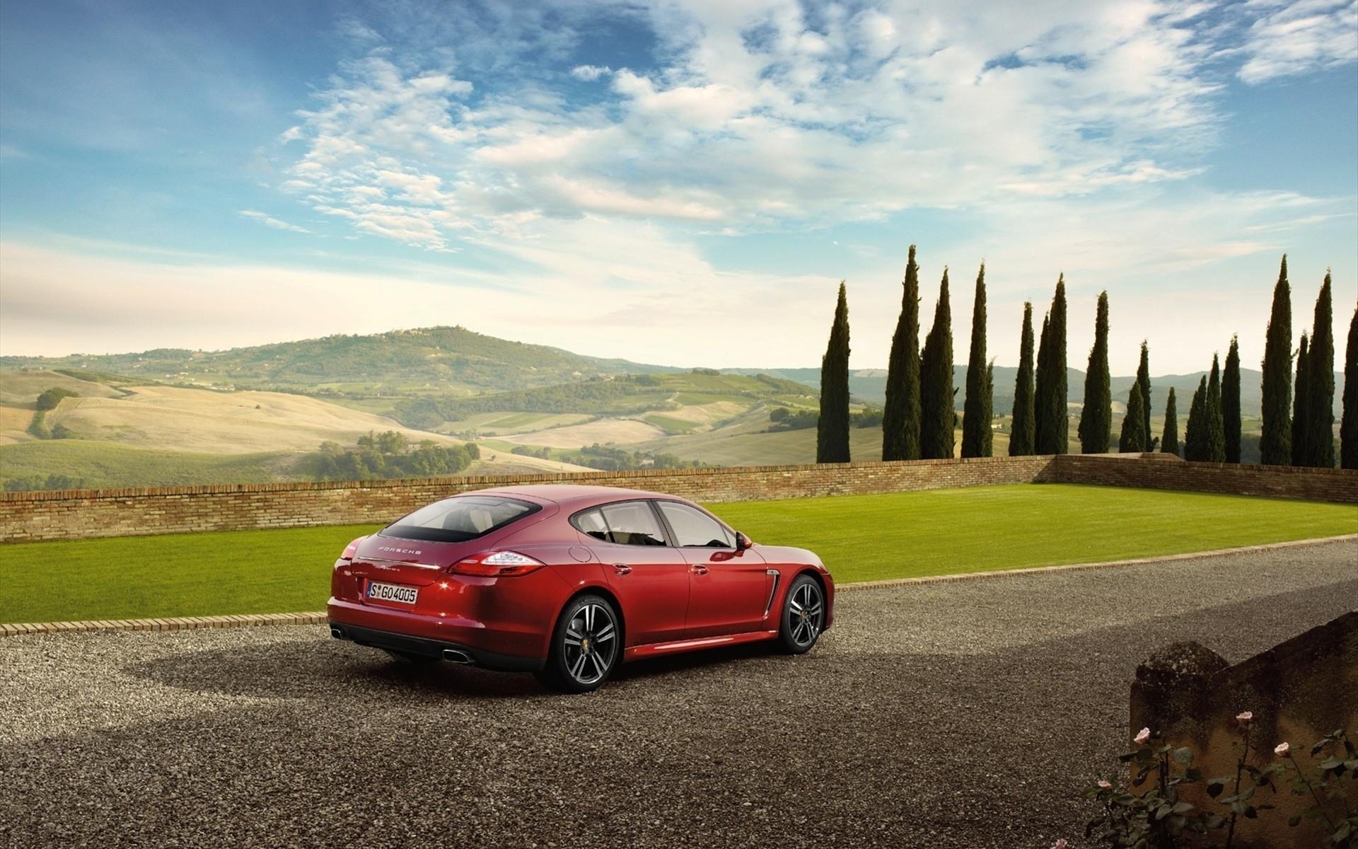 Porsche Panamera дорога скорость без смс