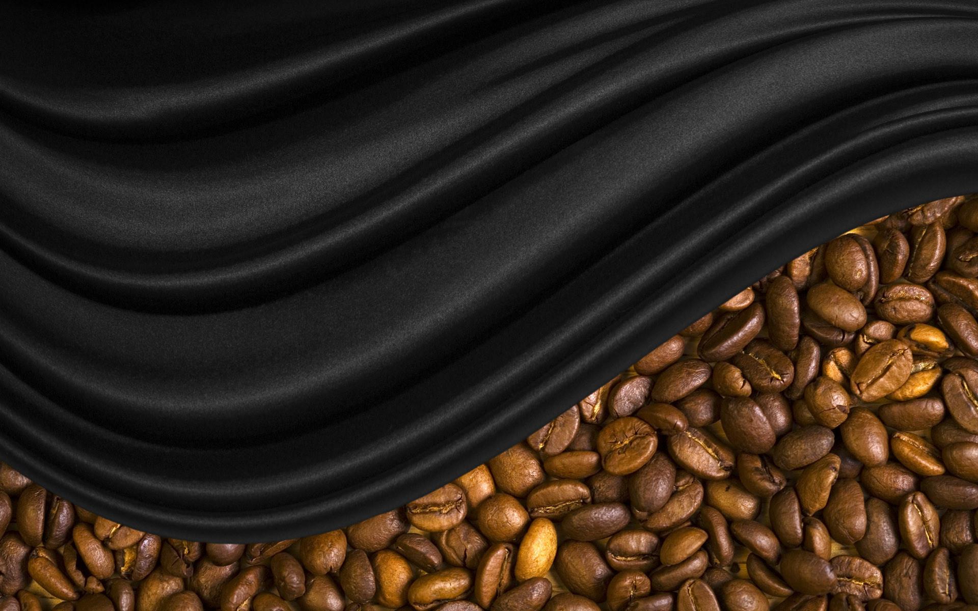 кофейные зерна мешковина ткань  № 3696125 загрузить