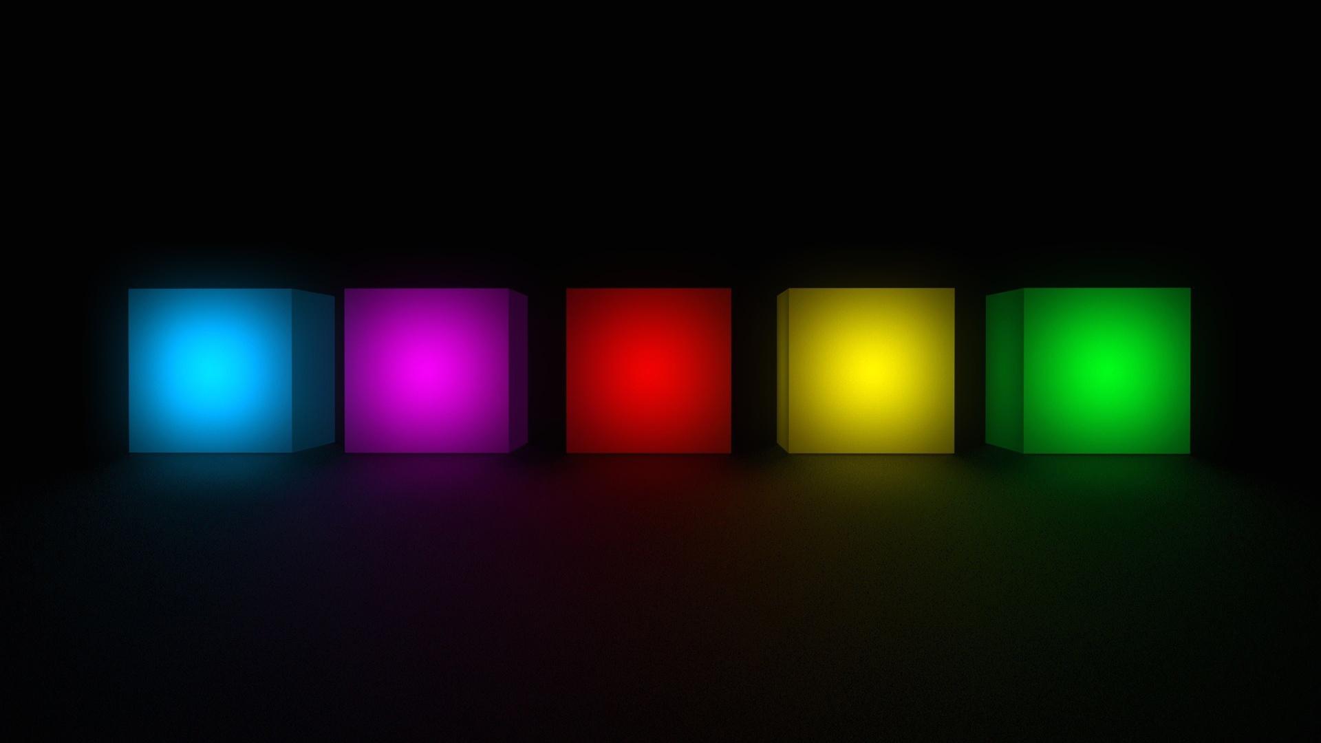 Светящиеся кубики загрузить